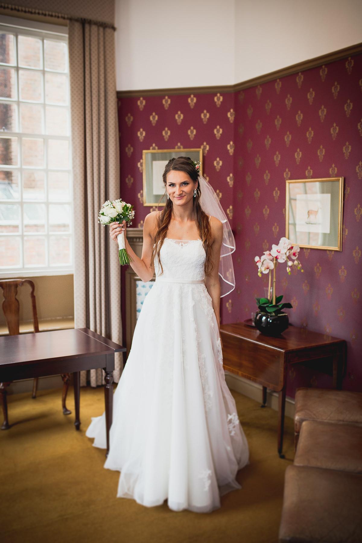 Bride West Sussex Weddings Chichester Town Hall