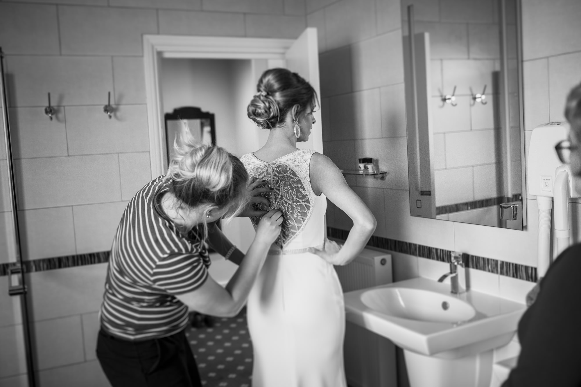 Bride Getting Ready Wedding Photography Worthing, Sussex