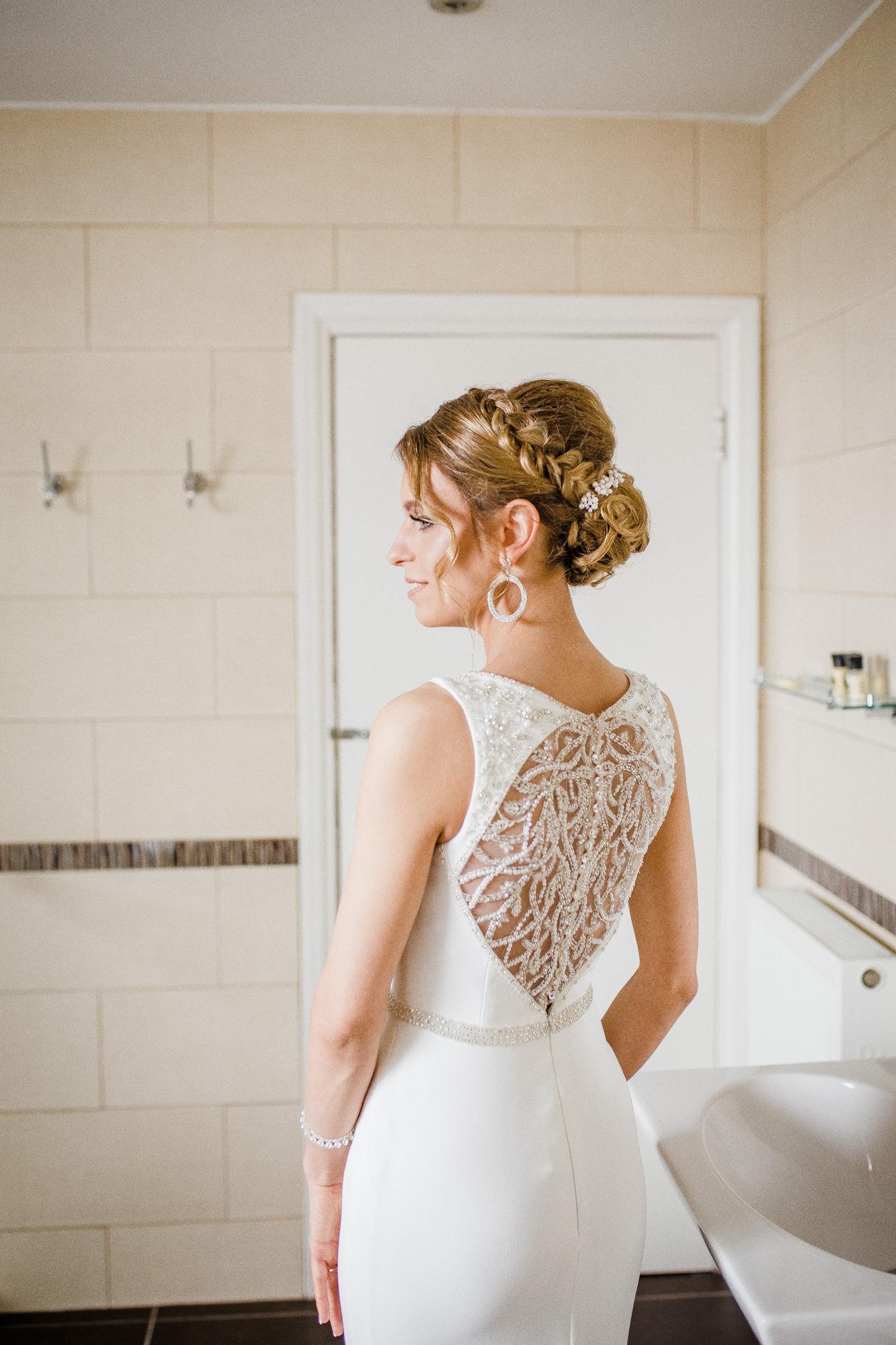 Bride Getting Ready Wedding Photography Sussex Vilcinskaite Photo