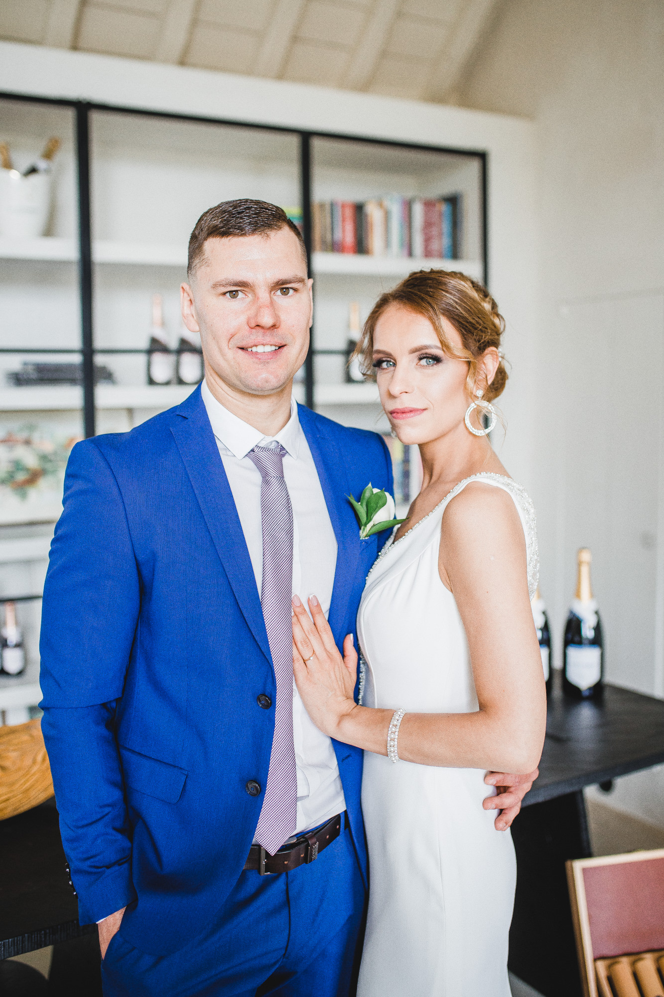 Lithuanian Couple Rustic Weddings at Nyetimber Sussex