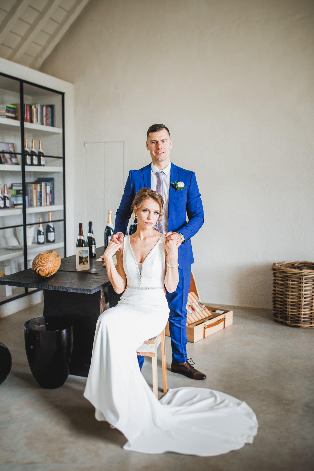 Lithuanian Couple Portrait Rustic Weddings at Nyetimber Sussex