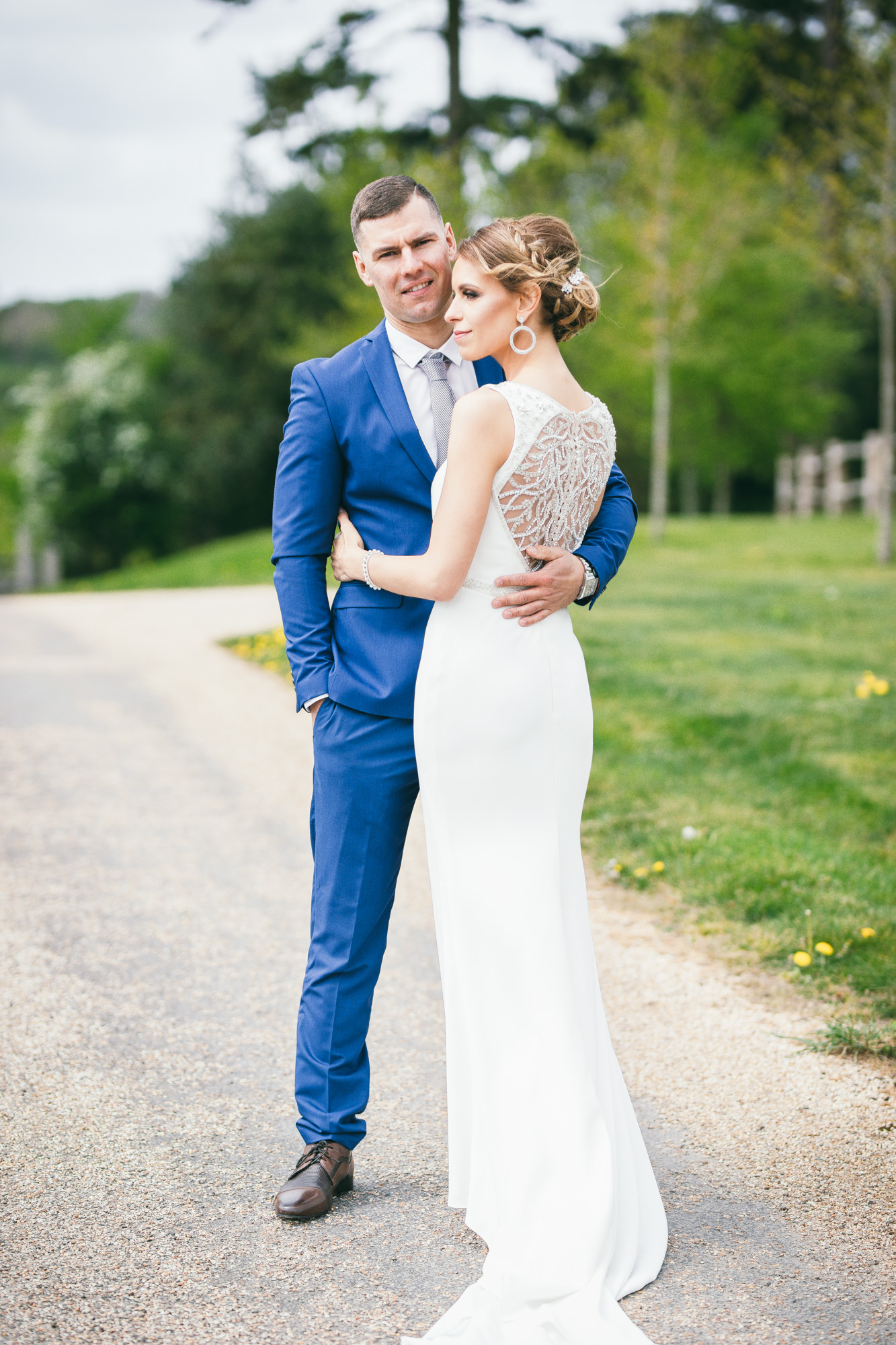 Bride and Groom Portrait Session in Sussex
