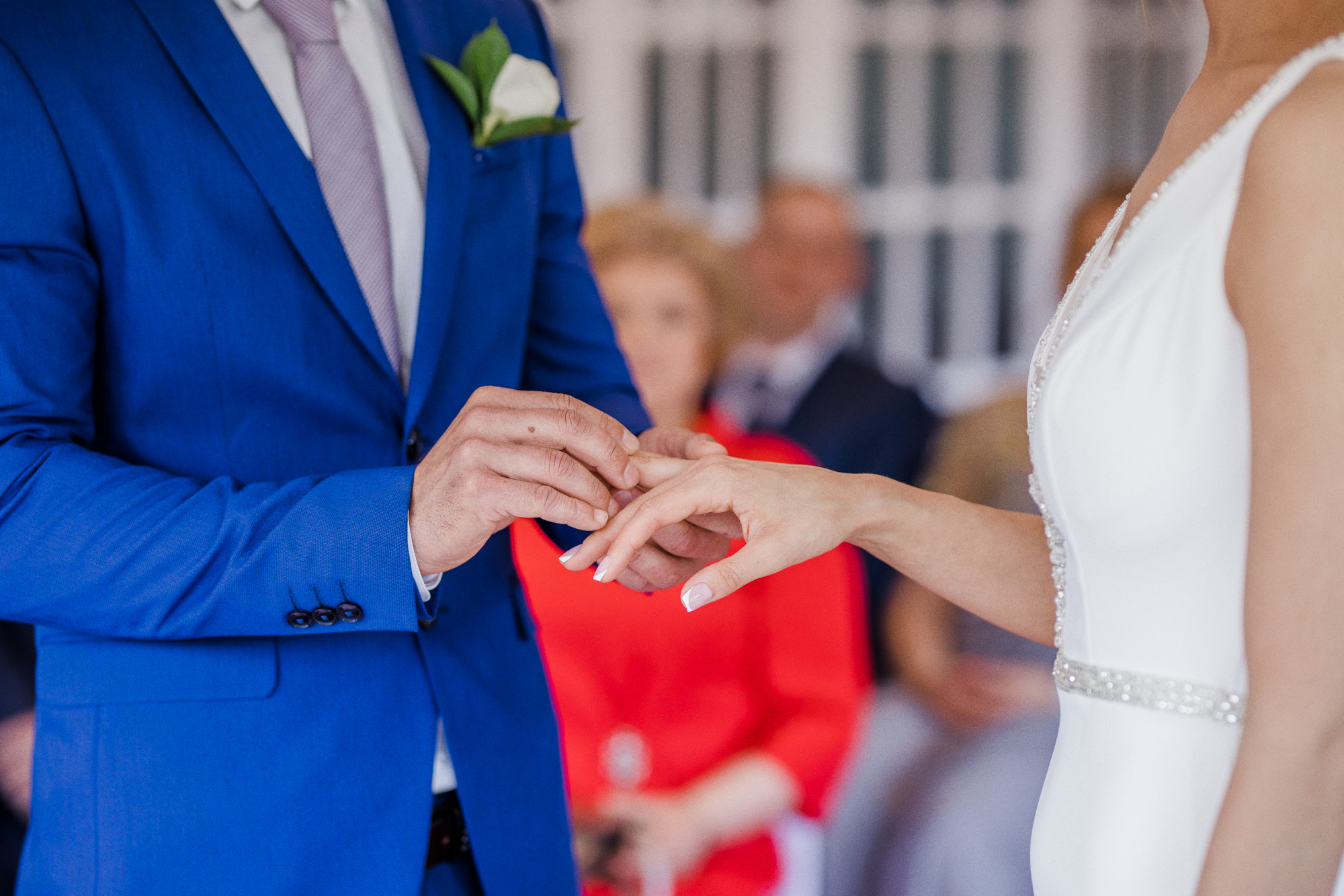 Ring Exchange Saying Yes Marriage