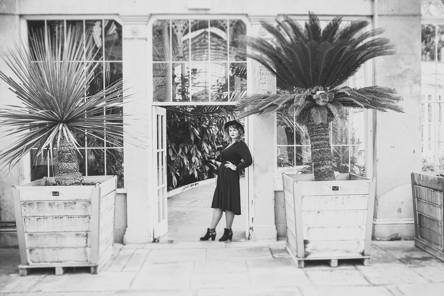 Lithuanian Interior Designer in Syon House, London