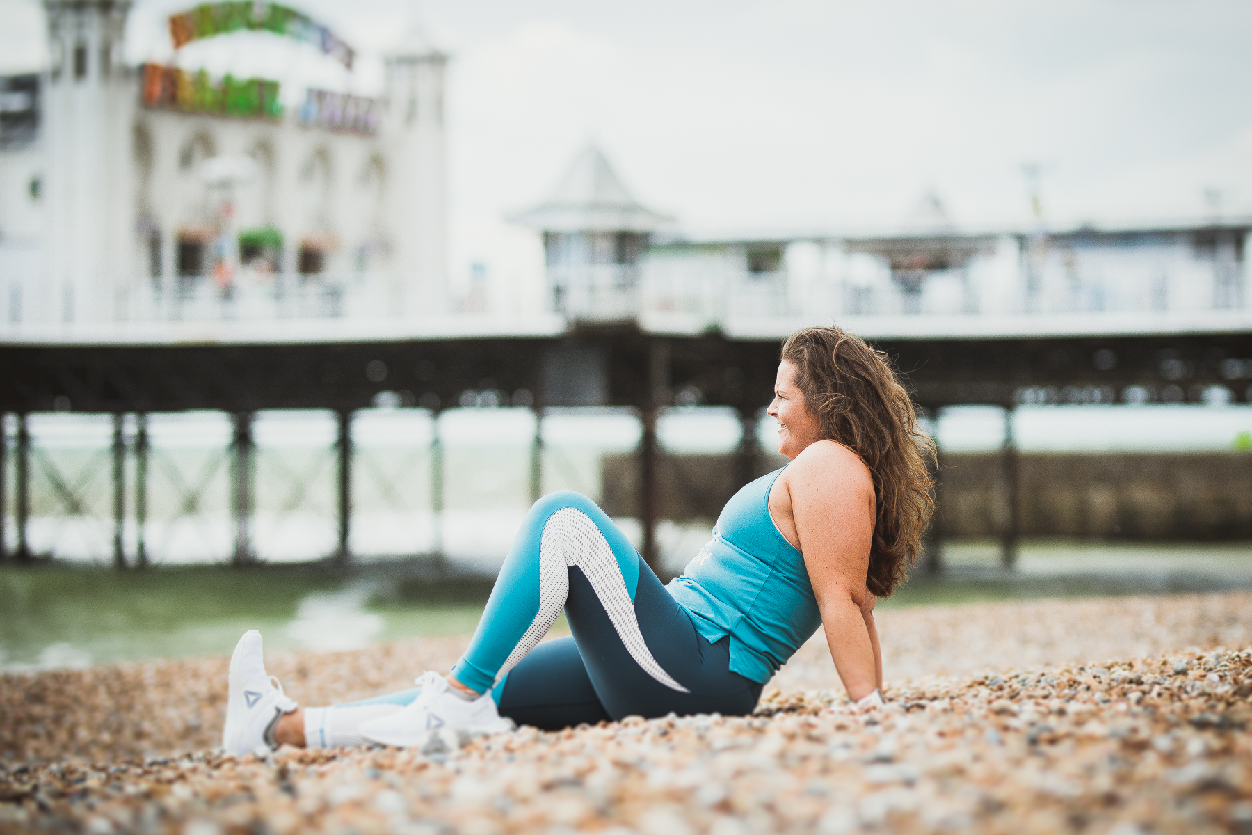 Reebok Women's Lux Block Colour Tights Reebok Ambassador Brighton Susse