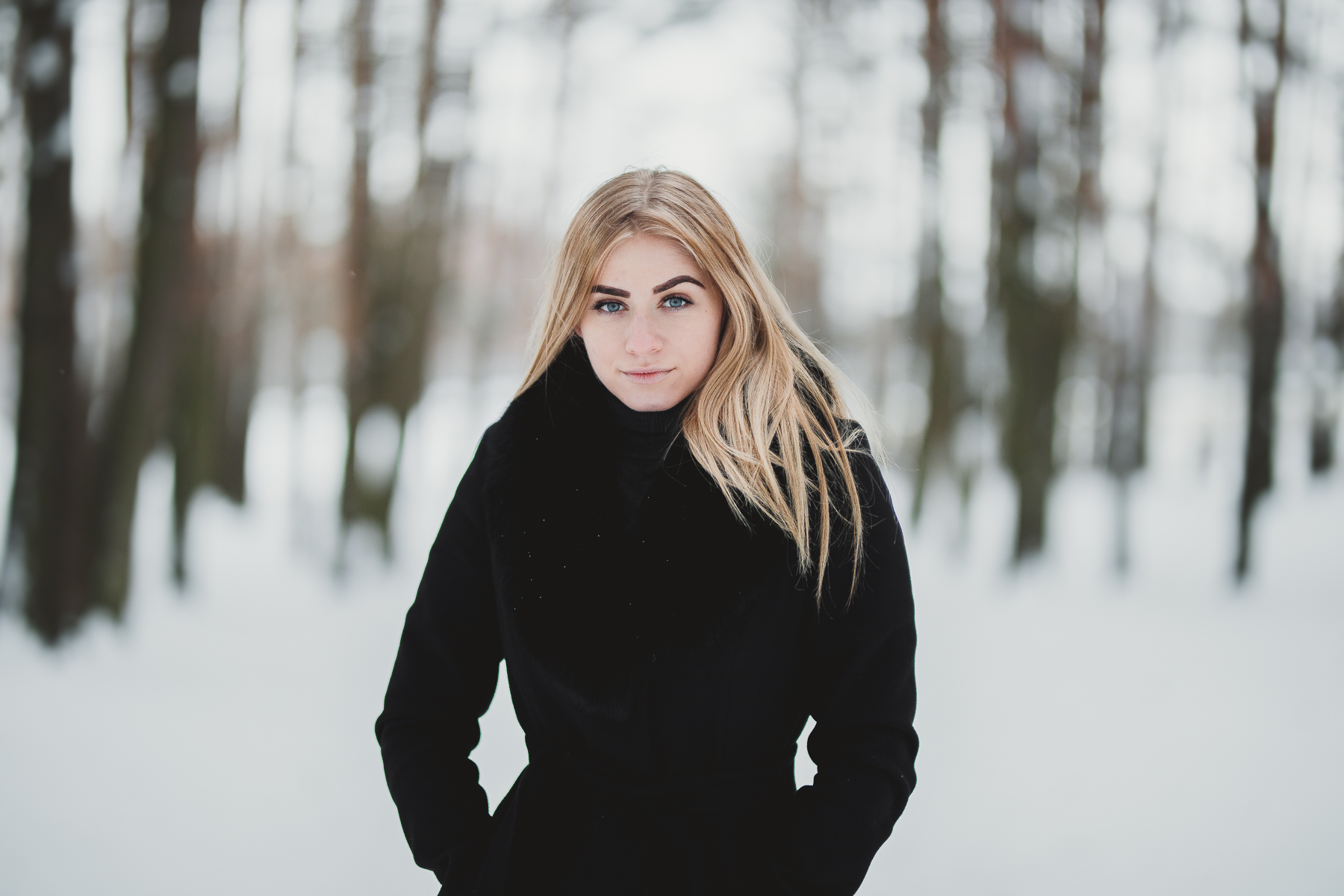 Beautiful Girl in the Woods, Lithuania