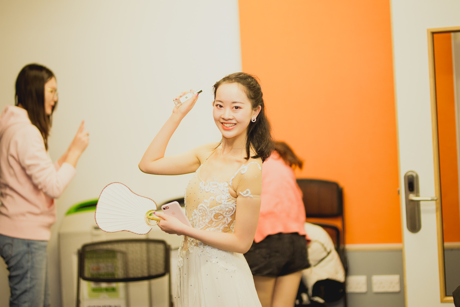 Chinese Ballet Dancer at University of Sussex Event Photography Sigma 85mm