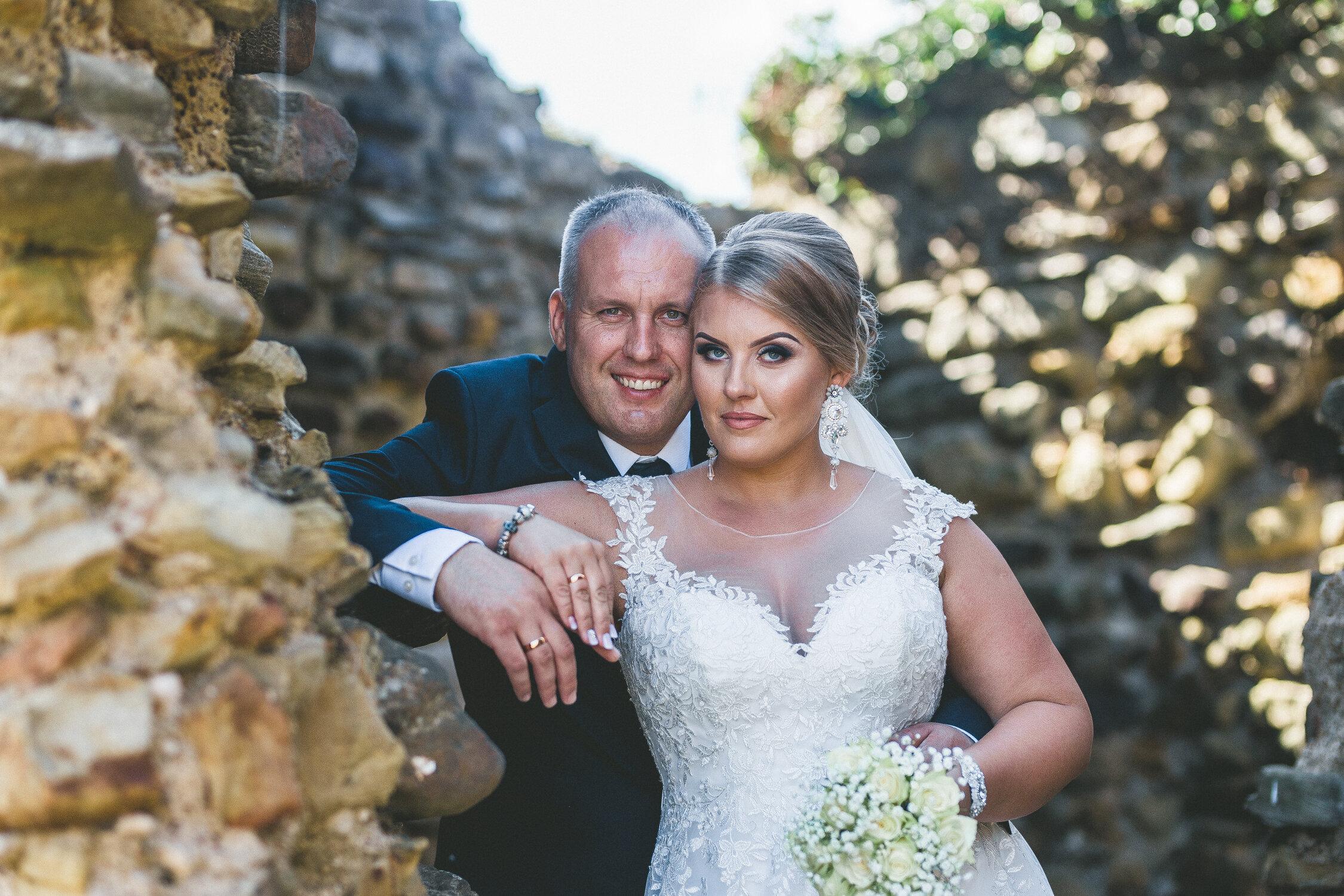 Hastings Castle Wedding Portrait Session