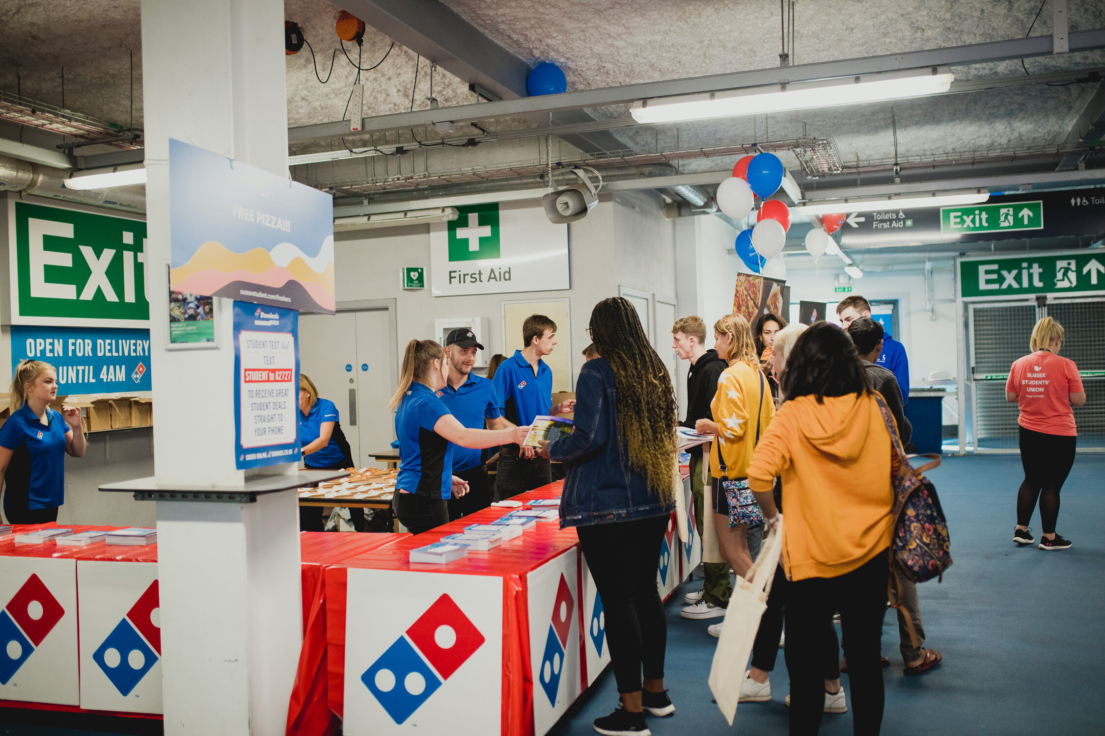 Free Domino Pizza University of Sussex