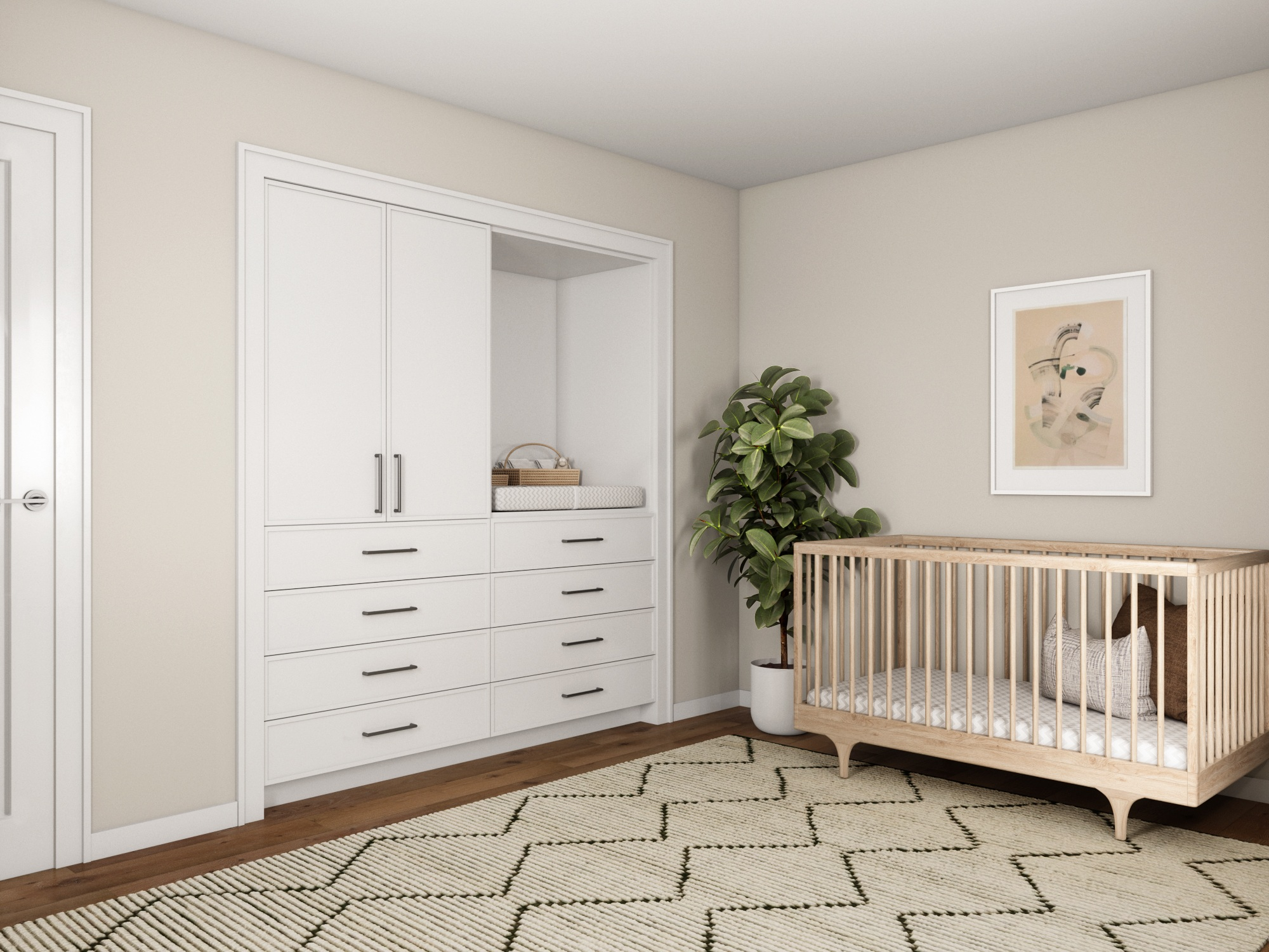 Closet Remodeland Retrofit - Transform an existing closet space into a custom closet system with drawers. Ideal for small spaces, this closet organization system makes it easy to declutter your home and your life.