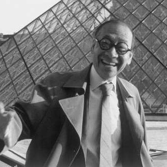 I.M. Pei. May you rest in peace.  I was so inspired by your addition at the louvre the few times I've visited over the years. The vision and progressive thinking had a permanent impact on me.  It's to beautiful for words.