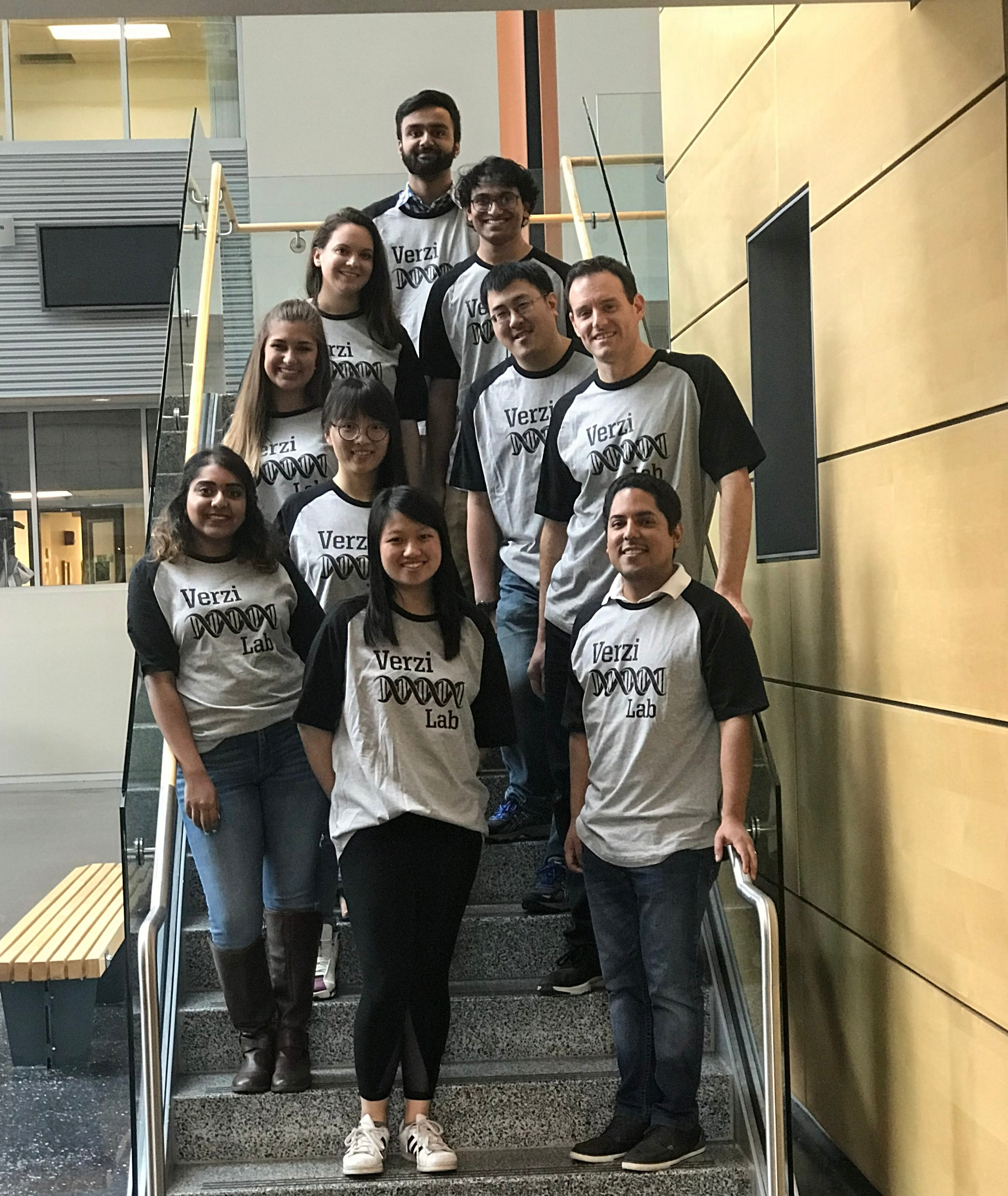 Top to Bottom and Left to Right: Rohit Aita, Bailey Warder, Aditya Parthasarathy, Natalie Toke, Kevin Tong, Lei Chen, Mike Verzi, Pooja Shah, Shirley Luo, Oscar Pellon Cardenas.