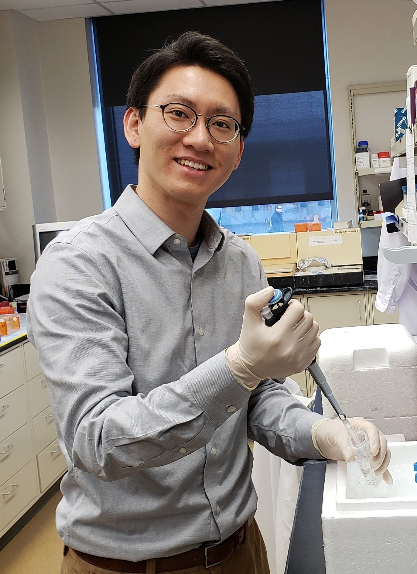 Joseph Hur - Joseph is working on functional epigenomics of the Vitamin D Receptor.