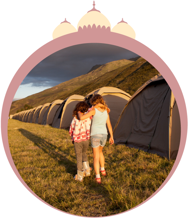 EXPLORER TENT: R2140 - Mattresses and fitted sheets:Sleeps two people