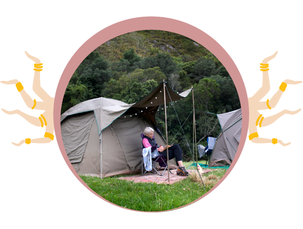GENERAL CAMPING - No extra charge!