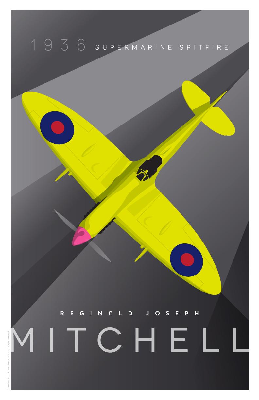 R. J. Mitchell Supermarine Spitfire