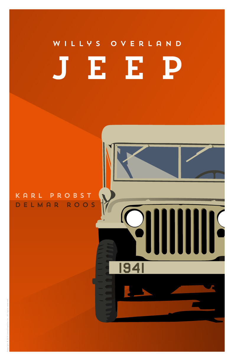 Karl Probst and Delmar Roos Willys-Overland Jeep