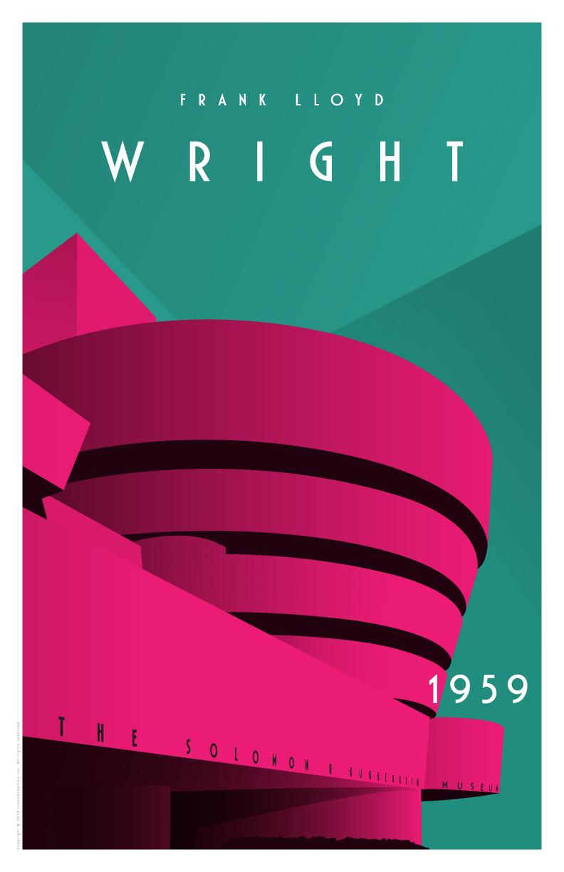 Frank Lloyd Wright Solomon R. Guggenheim Museum