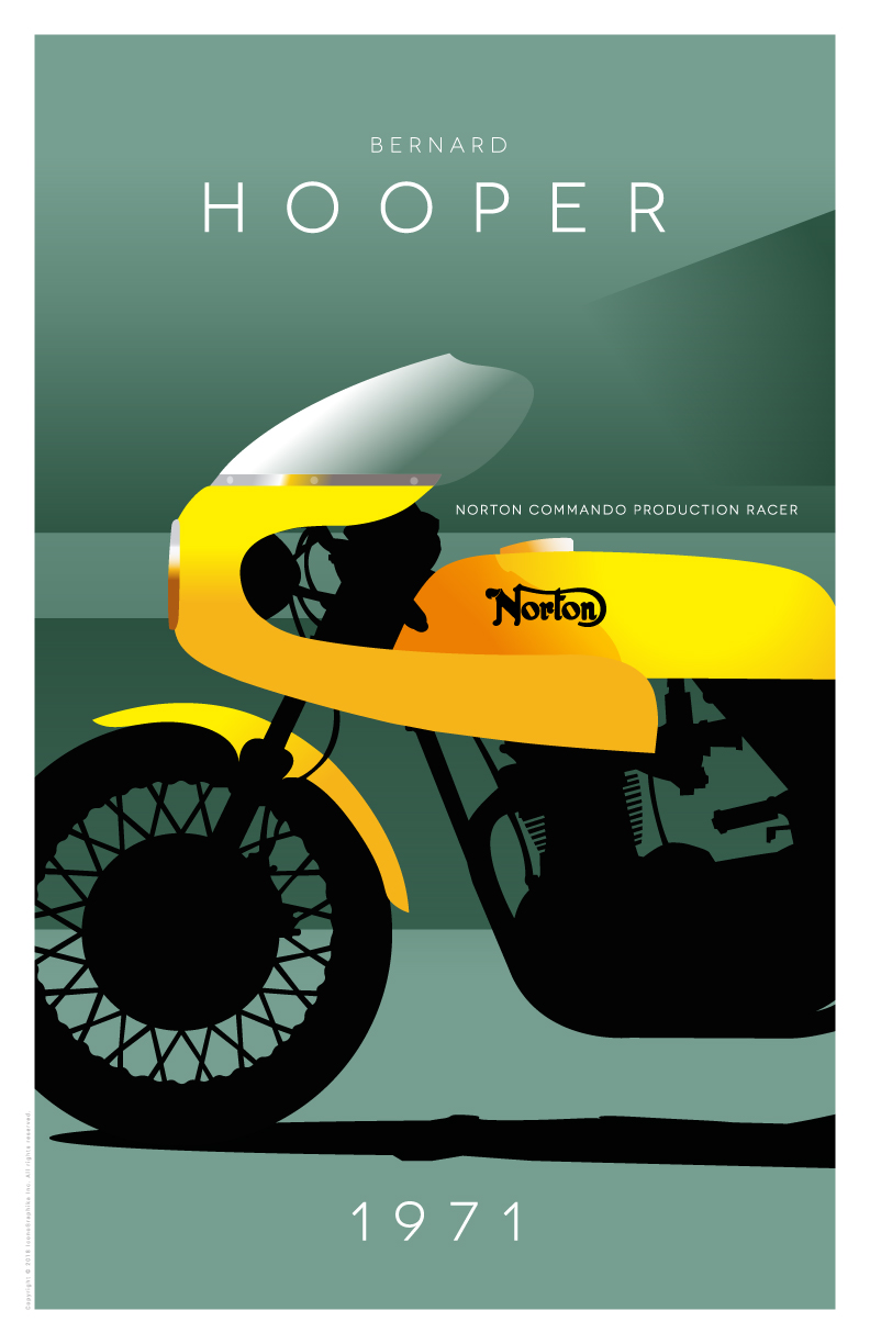 Bernard Hooper Norton Commando Production Racer