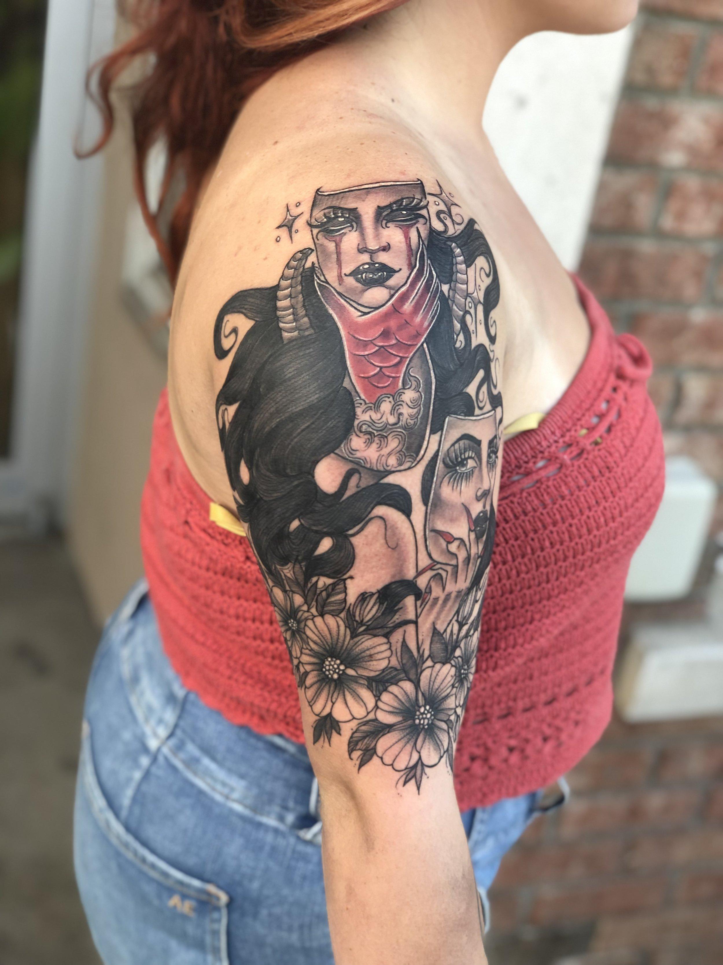 Best Japanese Tattoo Tattoo Artist Jessa Bigelow
