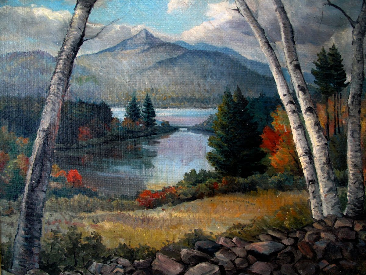 Painting of Basin View Lot, 1950s