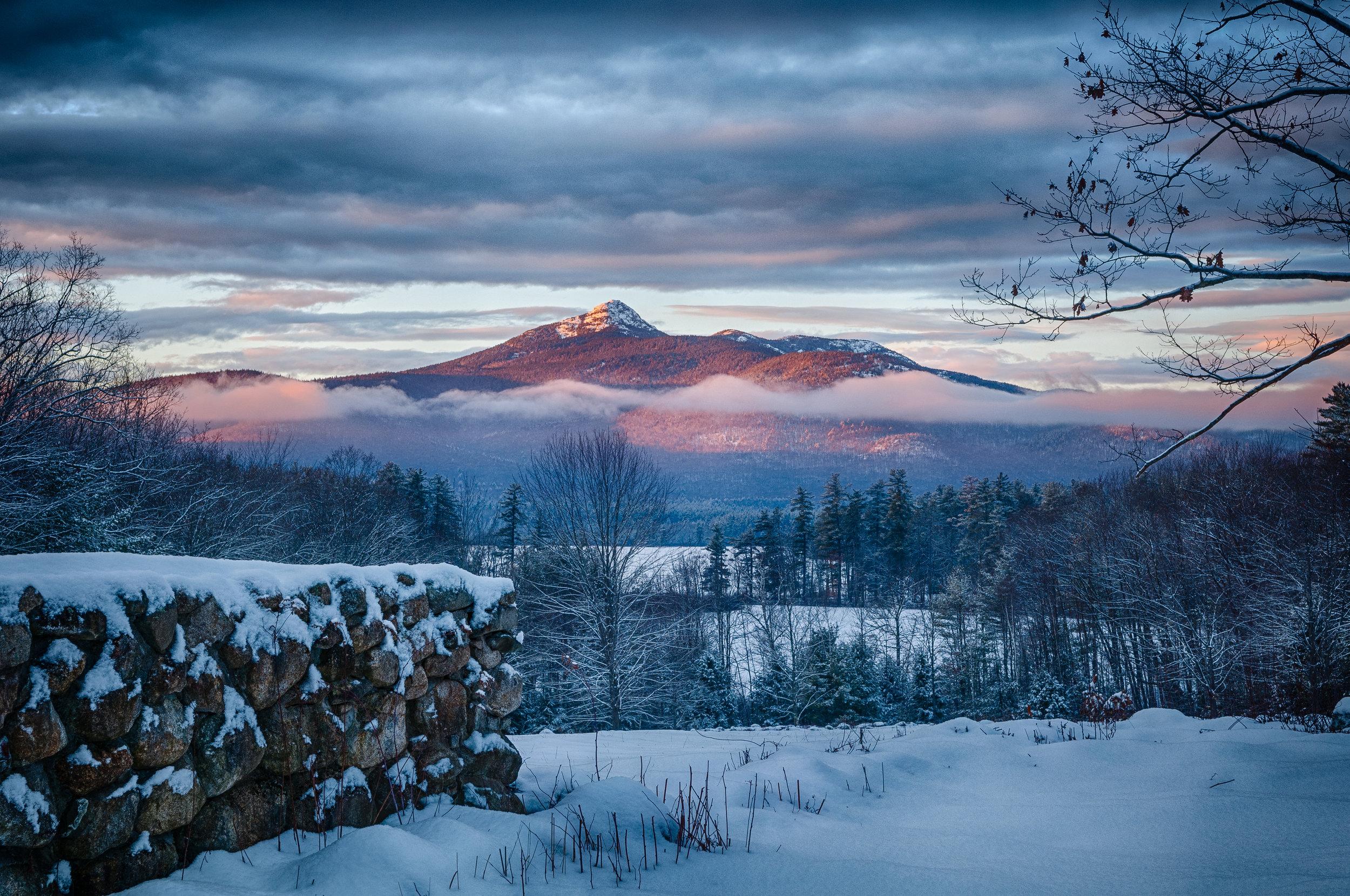 Basin View Lot, winter