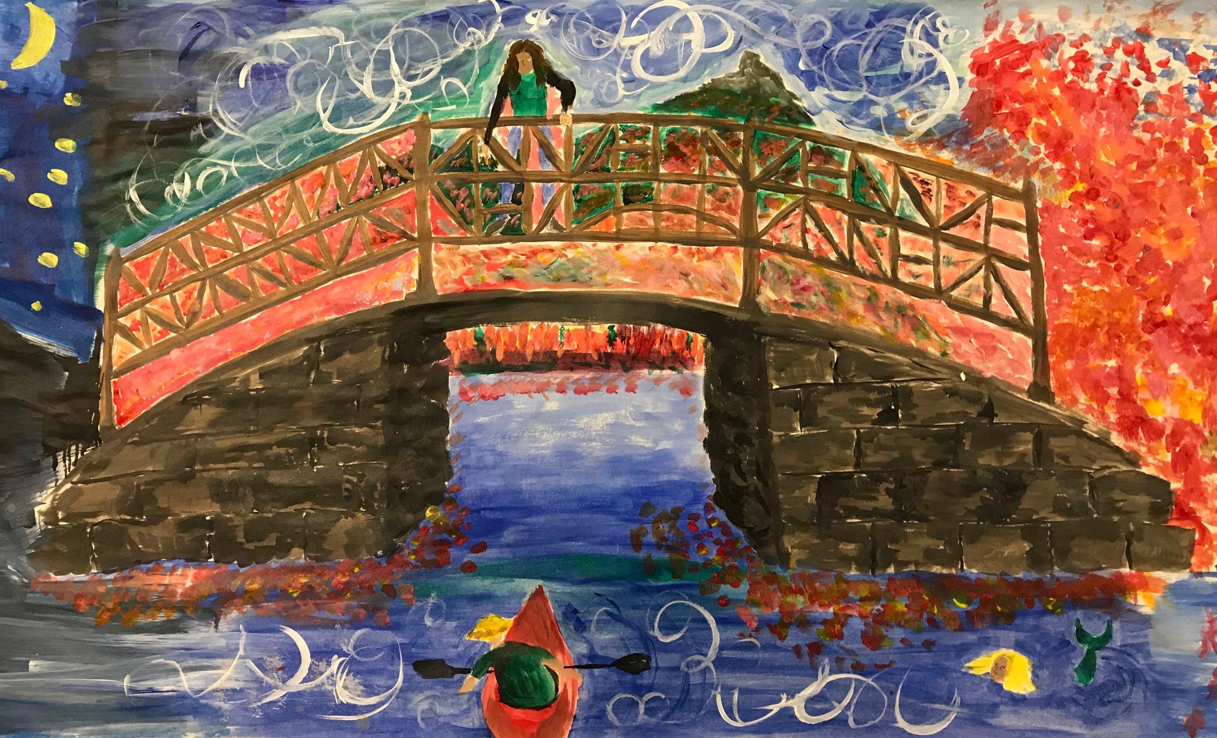 The Narrows Bridge, Chocorua Lake Crankie