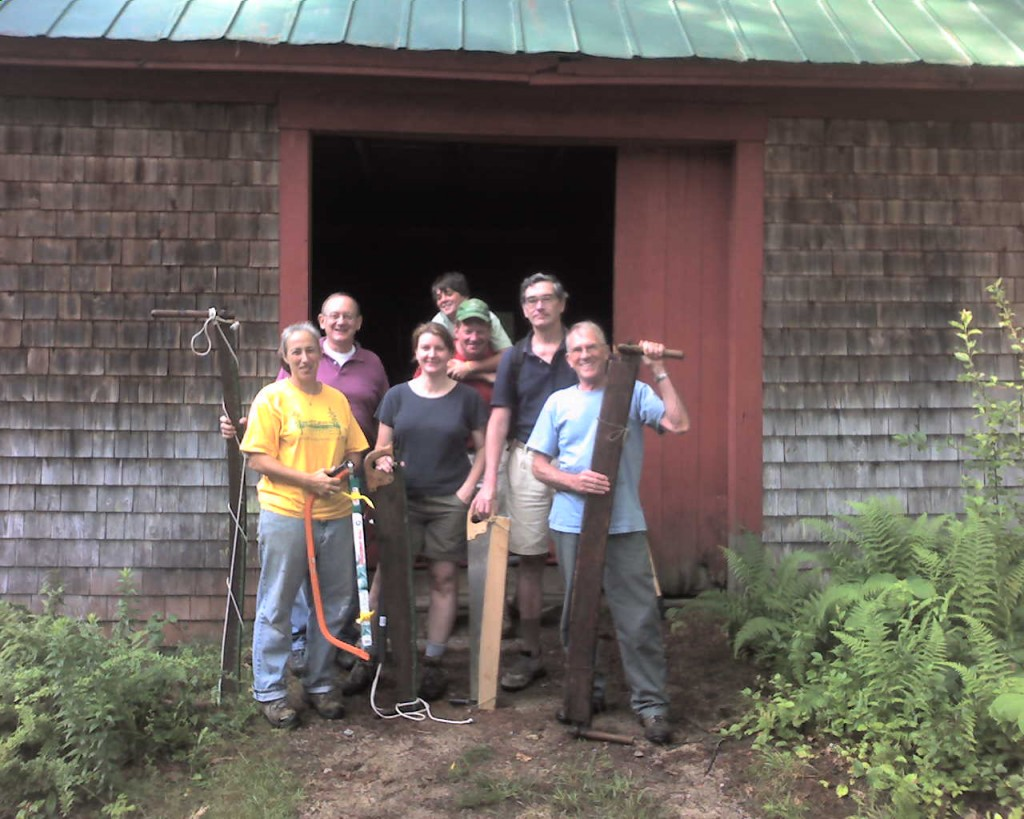 Chocorua Mountain Club trail crew!