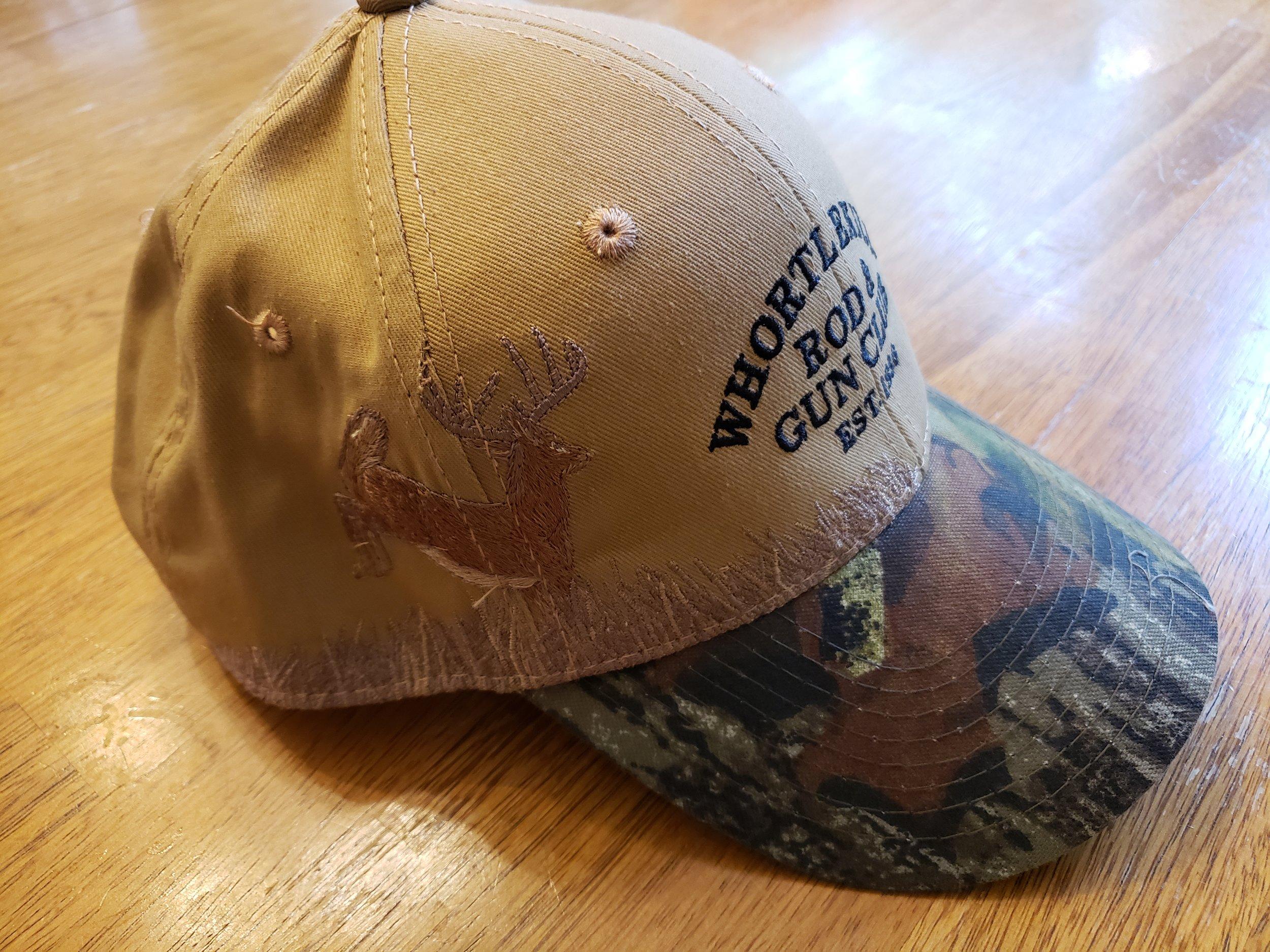 Deer Hat Camo Brim-sideview