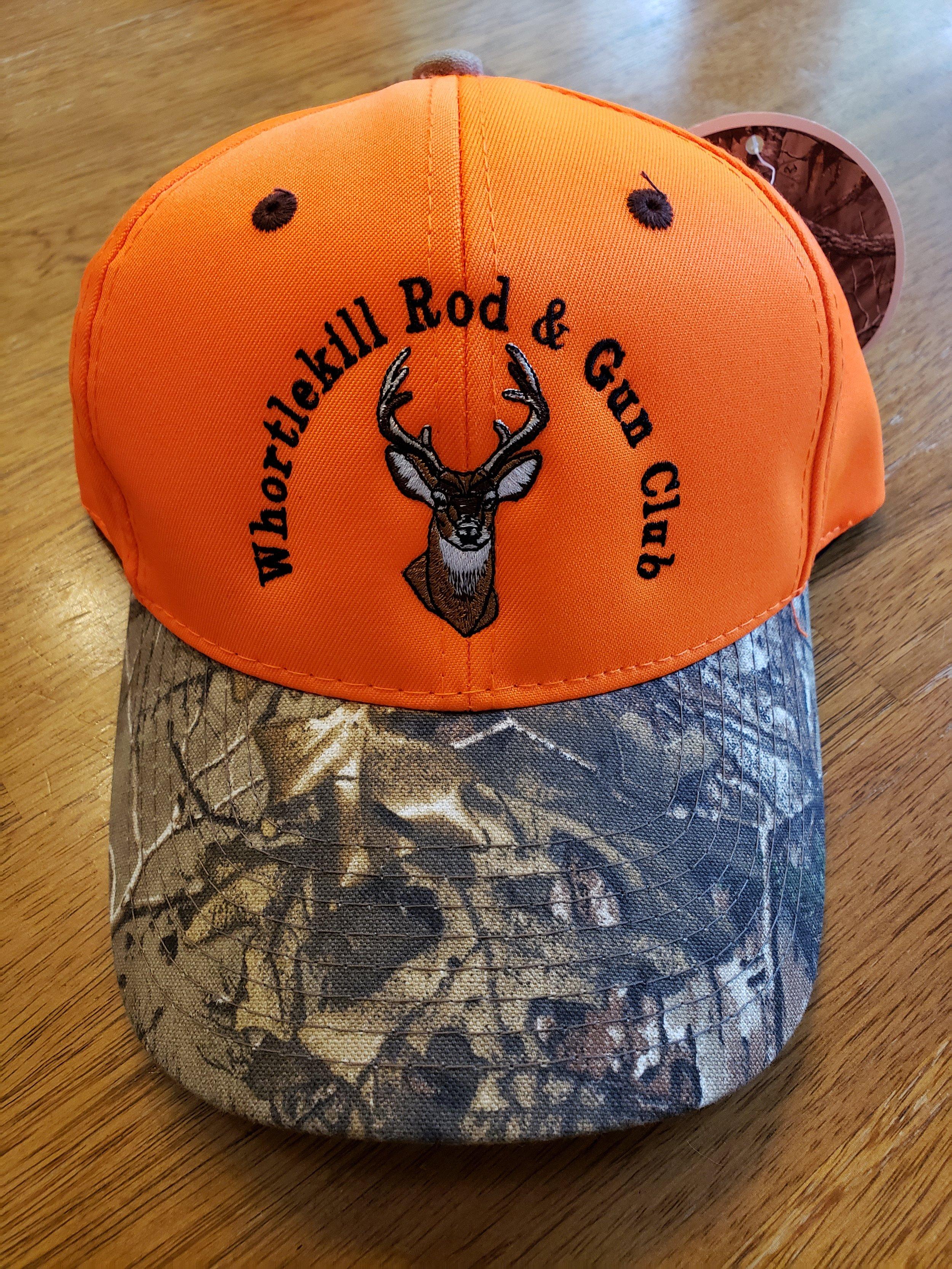 Orange Hat-Camo Brim-Deer