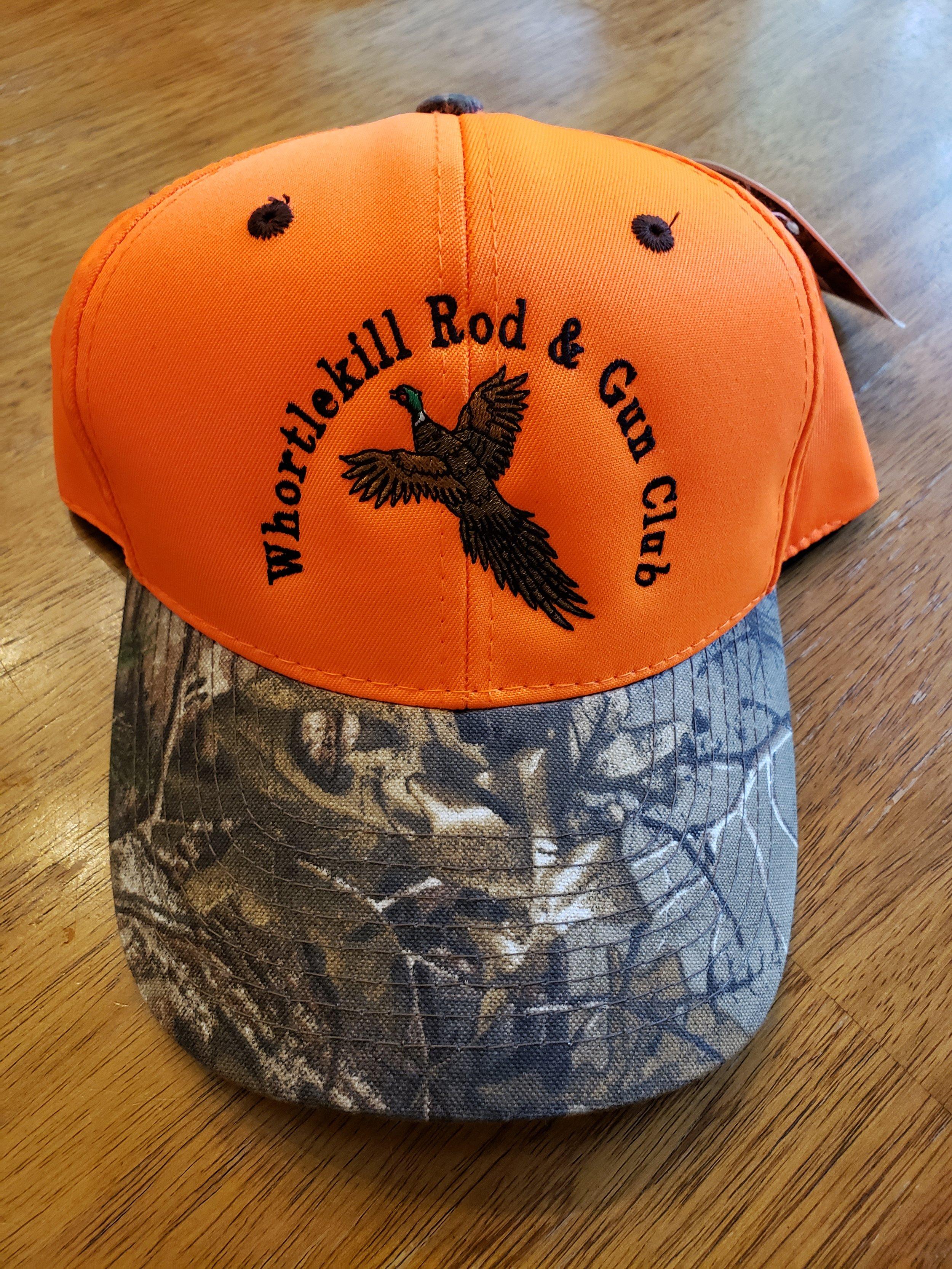 Orange Hat Camo Brim-Pheasant