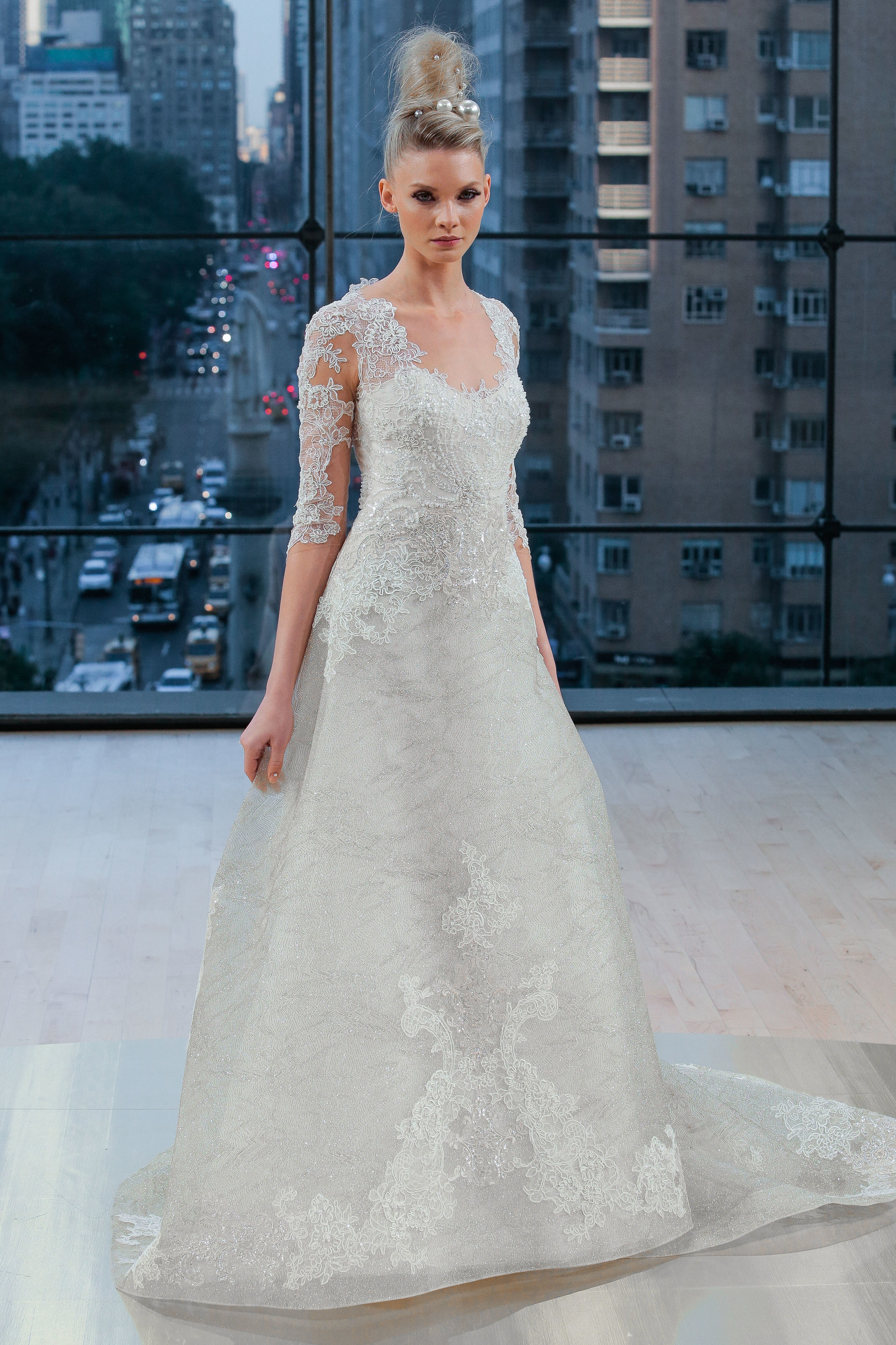 Bridal Fall 2018 Couture   HUDSON    INQUIRE