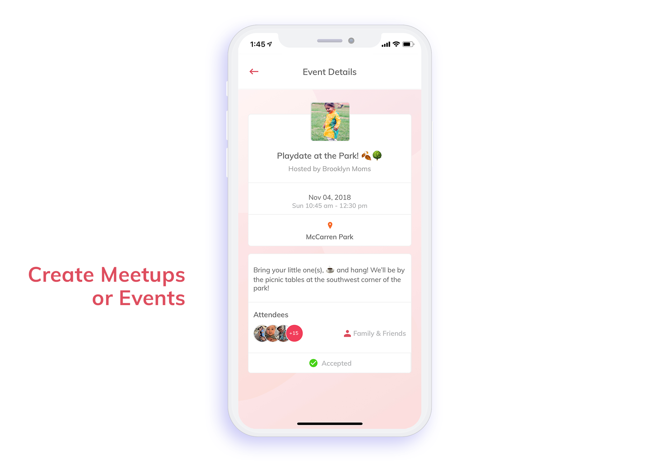 Create Meetings or Events