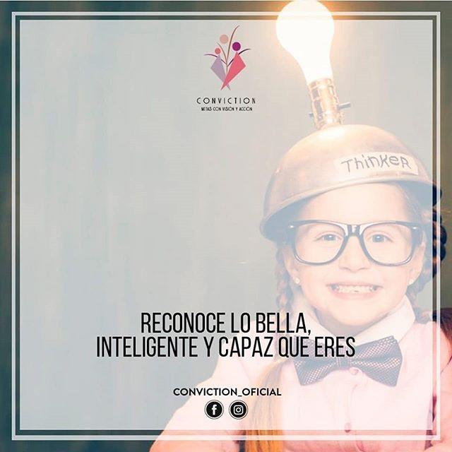 En ti están todas las respuestas... Conviction Metas con visión y acción🍃 es #AmorPropio #Reinvención #Cambio
