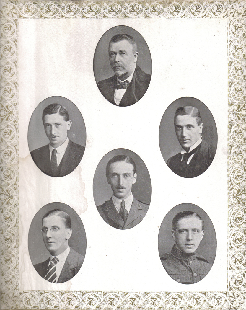 Robert Paterson and his 5 sons