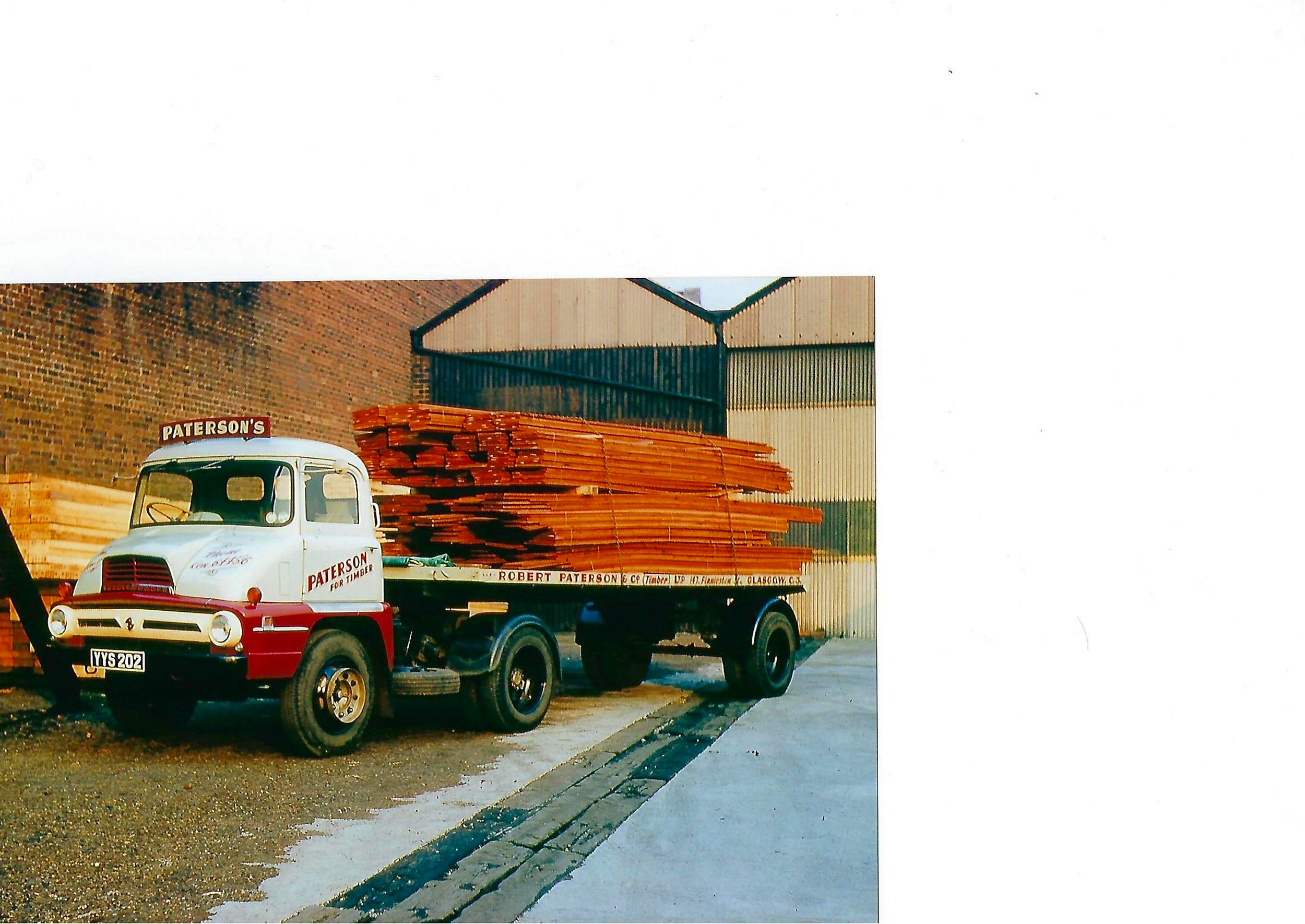 Paterson Timber truck from 1950s
