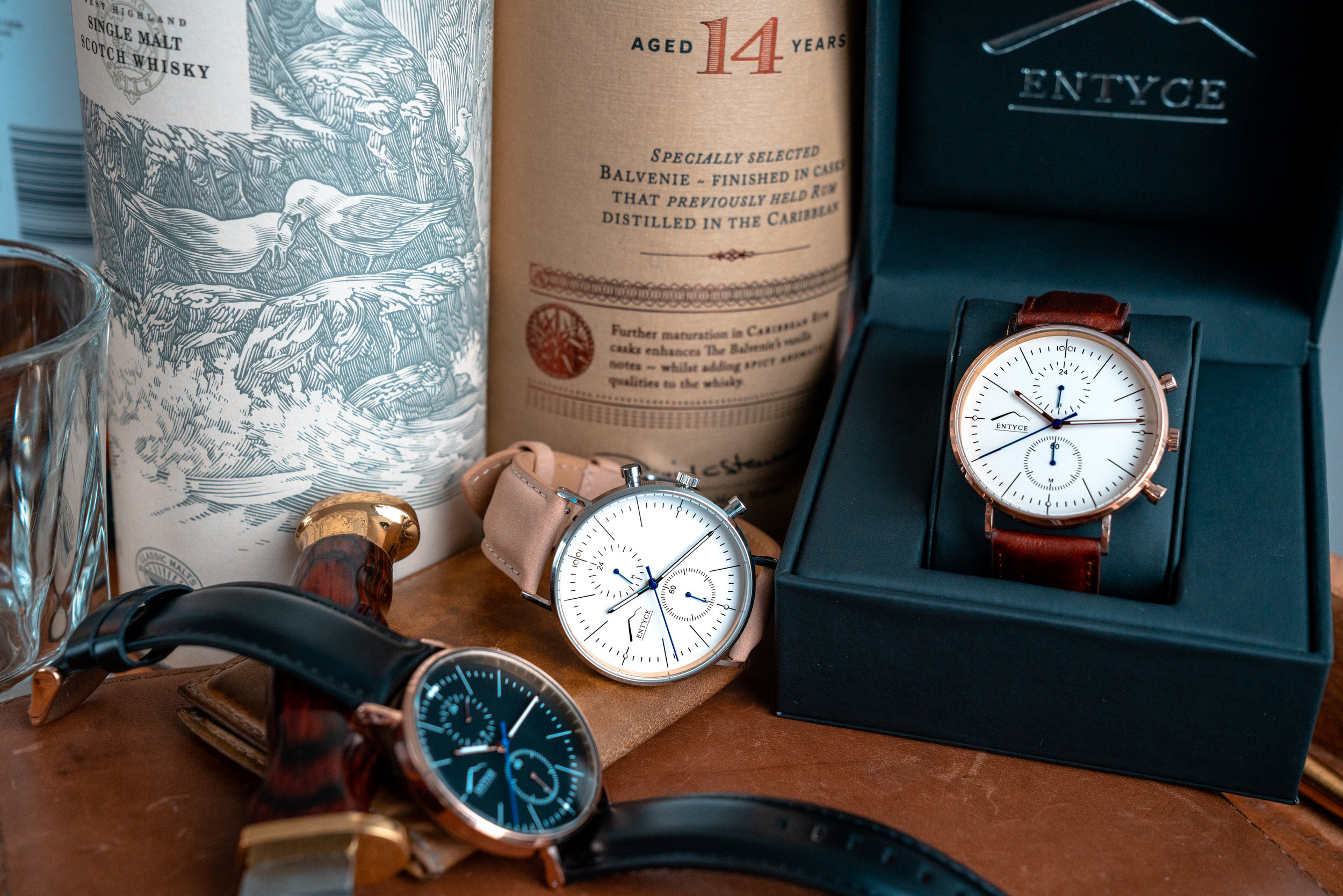 Entyce Watches - Photography