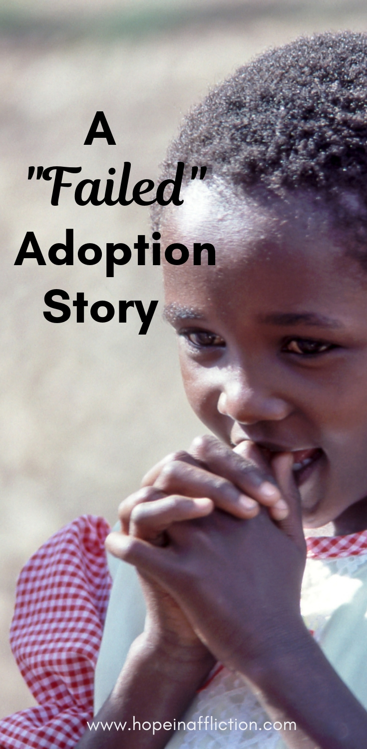 Not all adoptions succeed. Read a story tainted by corruption but still beautiful. #adoption #adoptionjourney #adopt #adoptionstory #family #corruption #culturematters #internationaladoption #story #life #adoptionblog