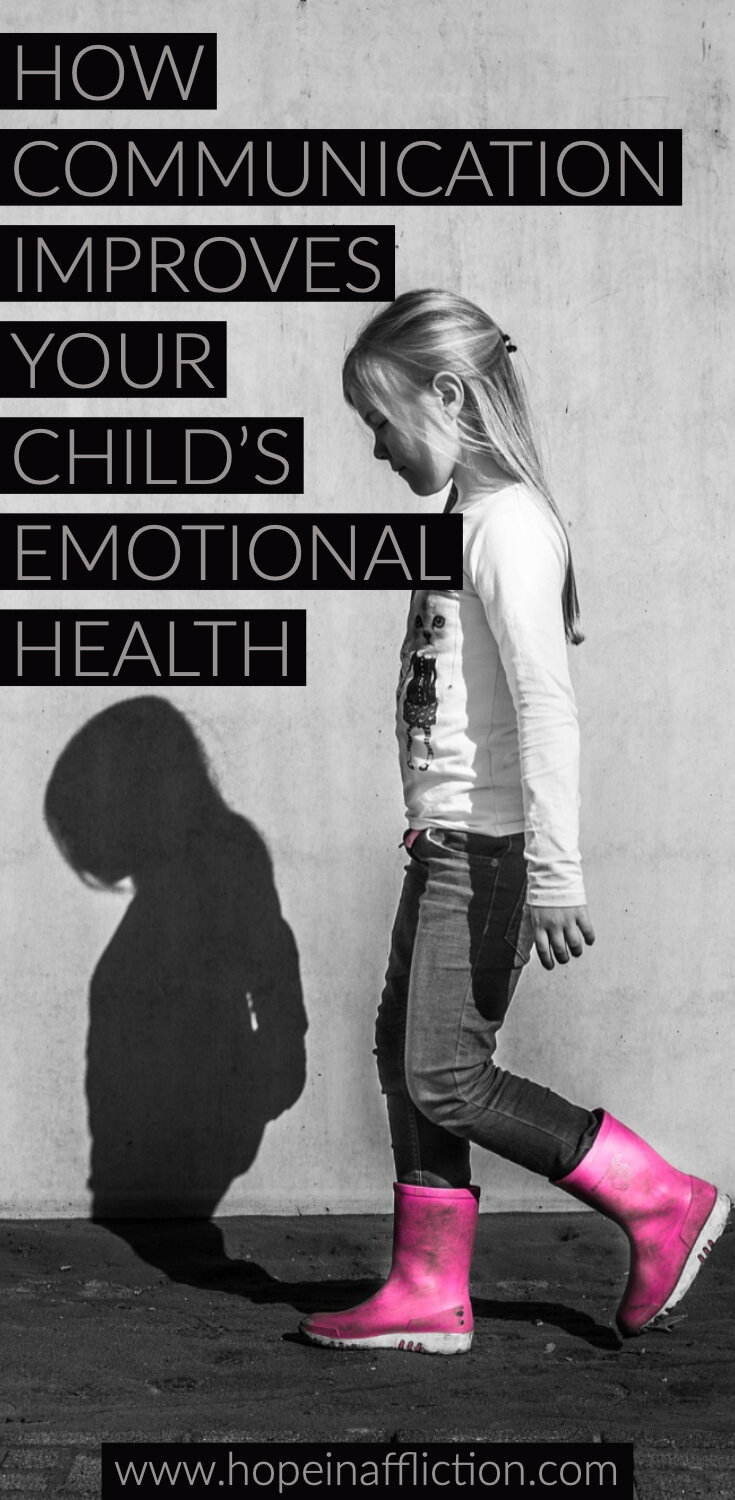 Communication is essential in all relationships, but especially when it comes to the parent child relationship. Learn how to communicate in a way that will improve your child's mental health, and your relationship with them. #emotionalhealth #parenting #parentingadvive #family