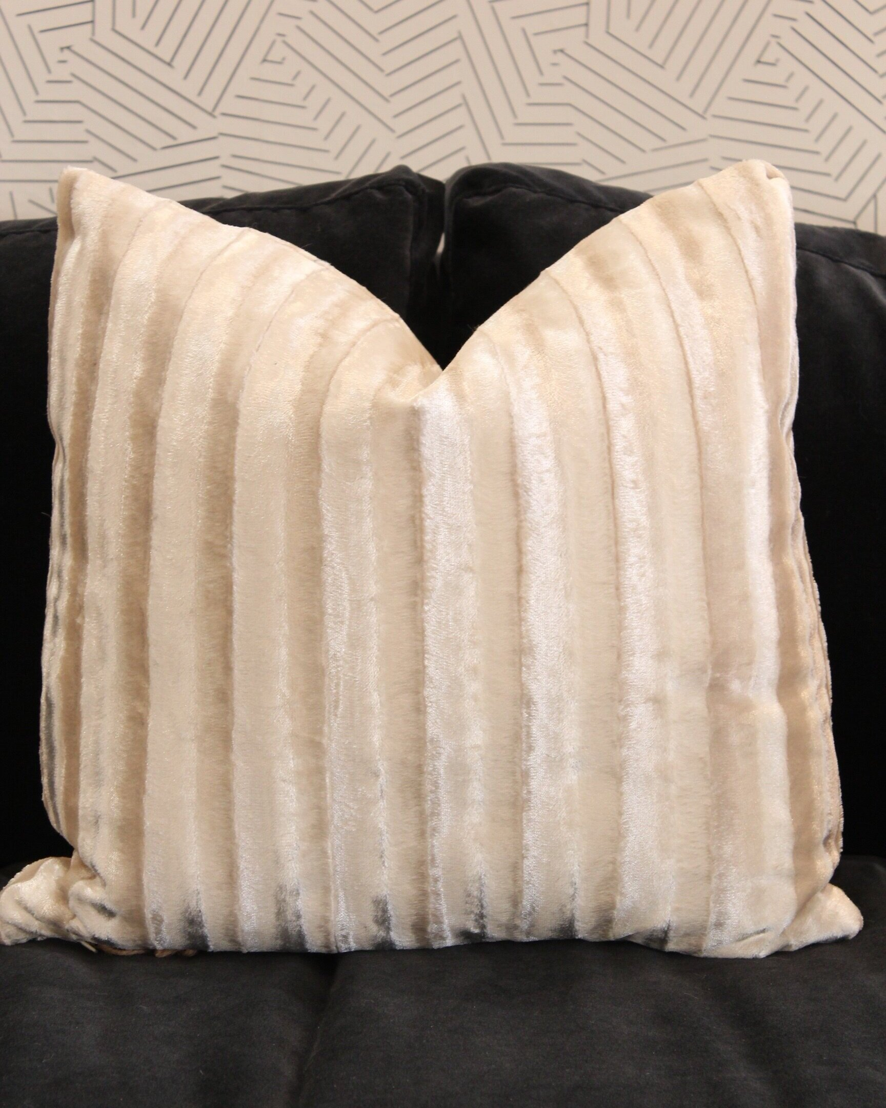 White Fur Pillows