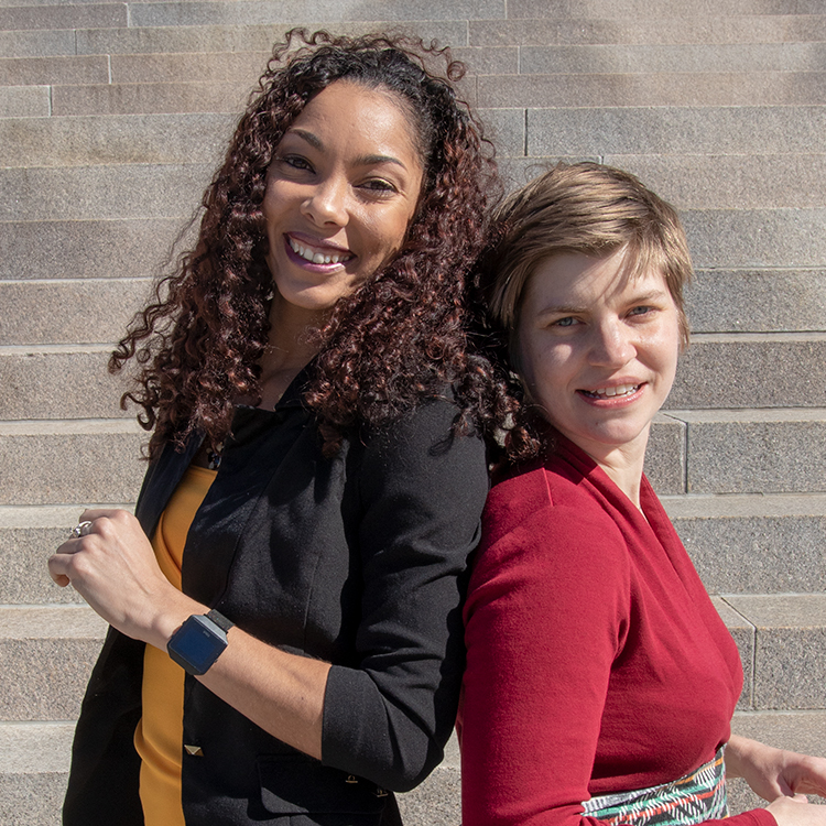 Alicia Newberry & Gretchen Auten  Hypertension \ Heart Disease Researchers