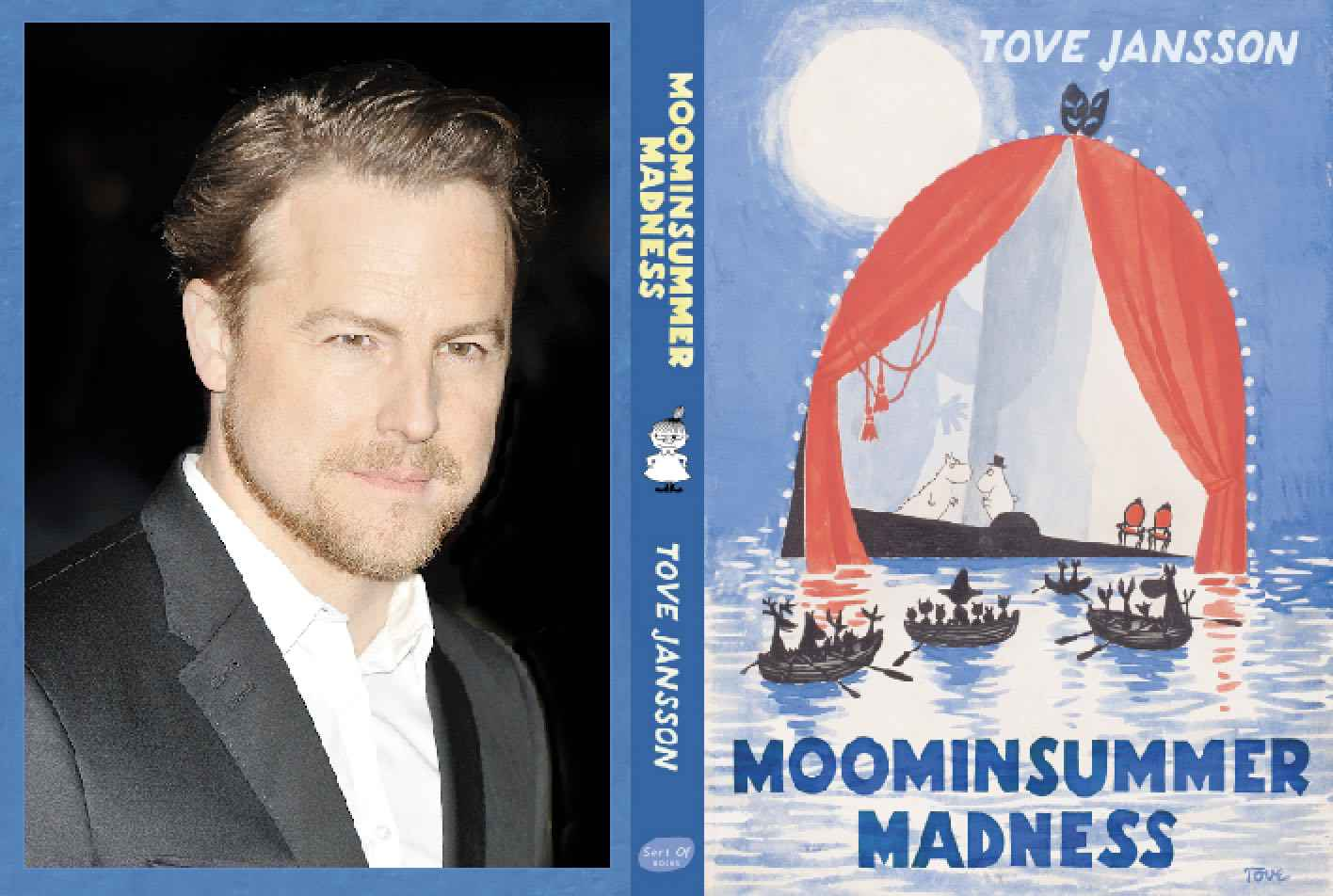 """This beautiful new edition puts Jansson's Comedy of Errors where it belongs: centre stage"" - Actor/Director Samuel West on the theatrical imagination behind Tove Jansson's glorious midsummer title"