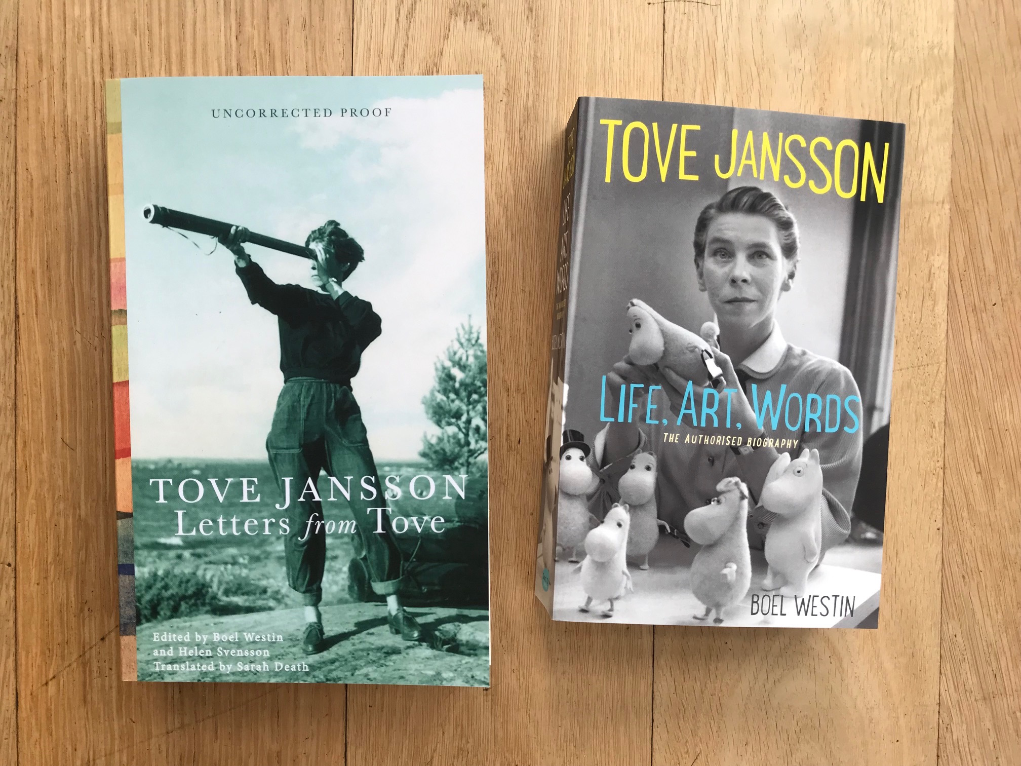 Tove Jansson's letters and biography - The only authorised biography of Tove Jansson written, with unique access to her personal archive, by her trusted friend Boel Westin. Out in paperback.