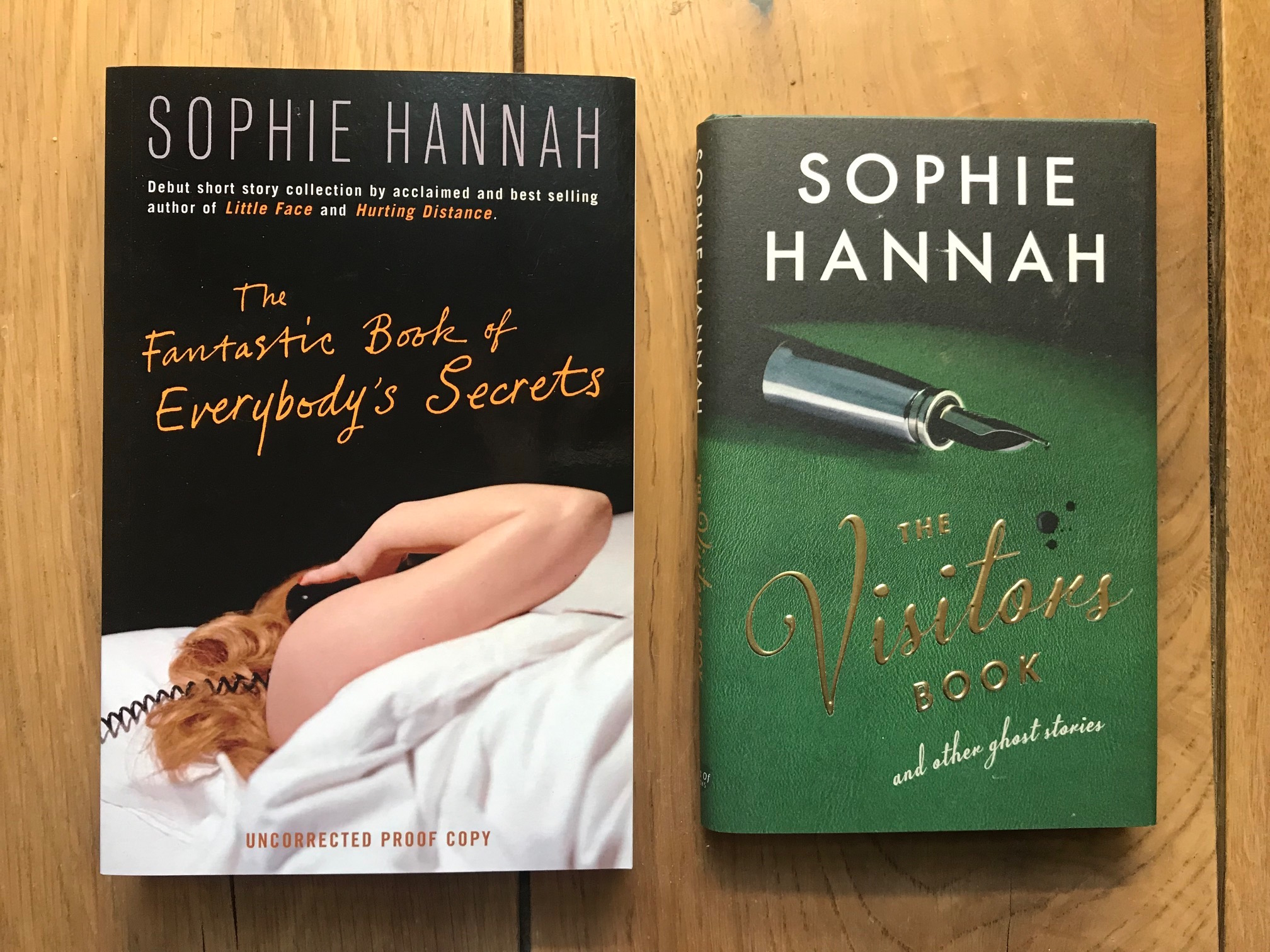Sophie Hannah 2 books photo.jpg