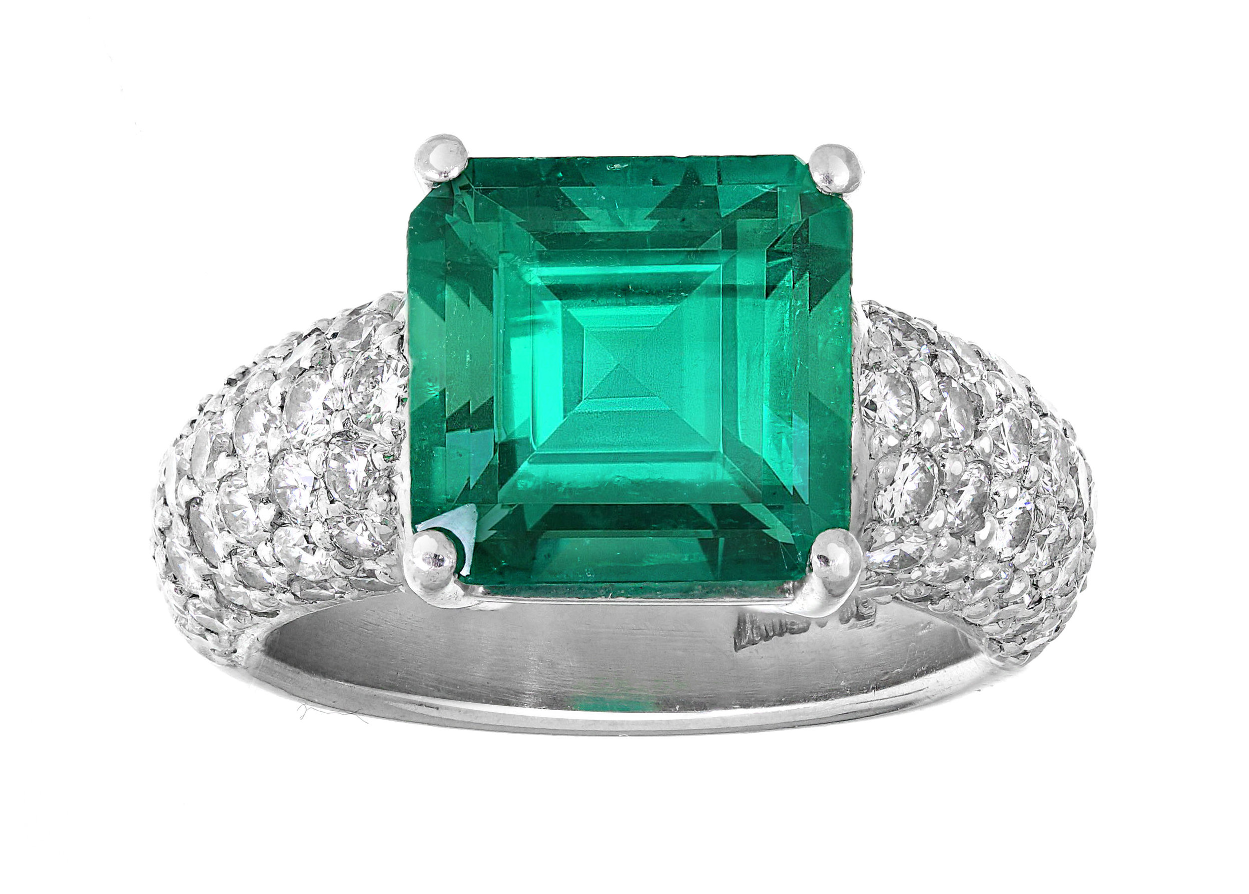 Emerald Ring - Jewelry Appraisal