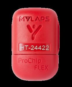 - MYLAPS ProChip Flex Alle MYLAPS ProChip FLEX kommer med lisens for bruk i 1, 2 og 5 år. Etter utløpt lisensperiode kan denne fornyes ved å kontakte BØSK eller direkte hos www.mylaps.com.Vann og støtsikker. Festes enkelt til ankelen med medfølgende stroppMYLAPS ProChips er svært slitesterkt og kan til og med vaskes i vaskemaskinen!Baner i Norge hvor du kan bruke MYLAPS brikken idag er:– Bjugn: Fosenhallen– Asker: Risenga– Stavanger: Sørmarka Arena– Oslo: Valle Hovin– Jevnaker Kunstisbane