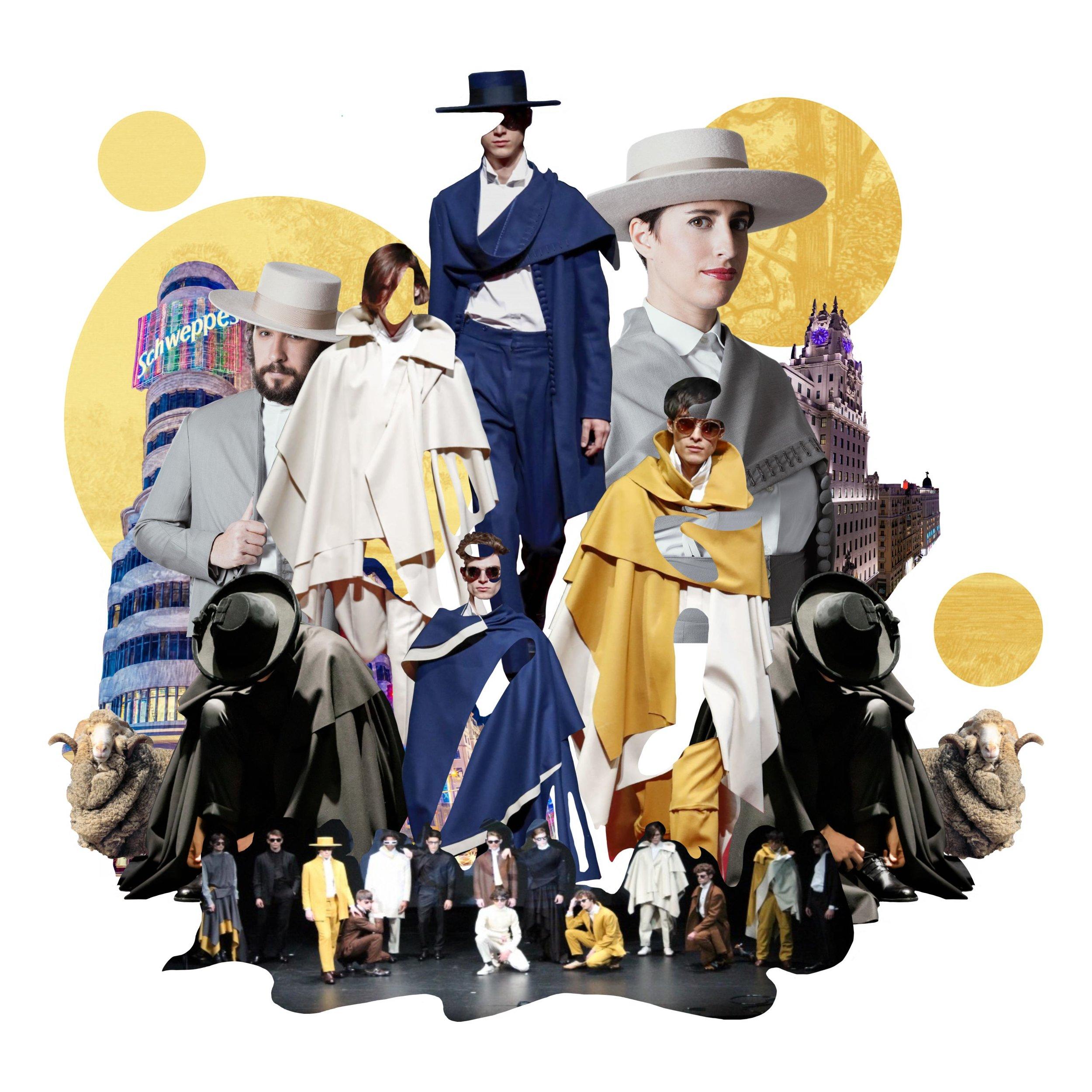 Oteyza - colección presentada en MBFW Madrid - Teatro Español