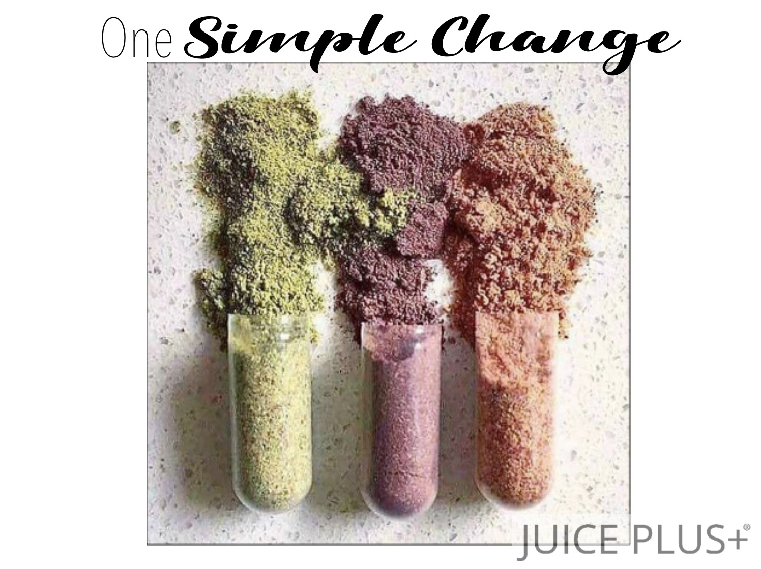One Simple Change Flip-Book - Click here