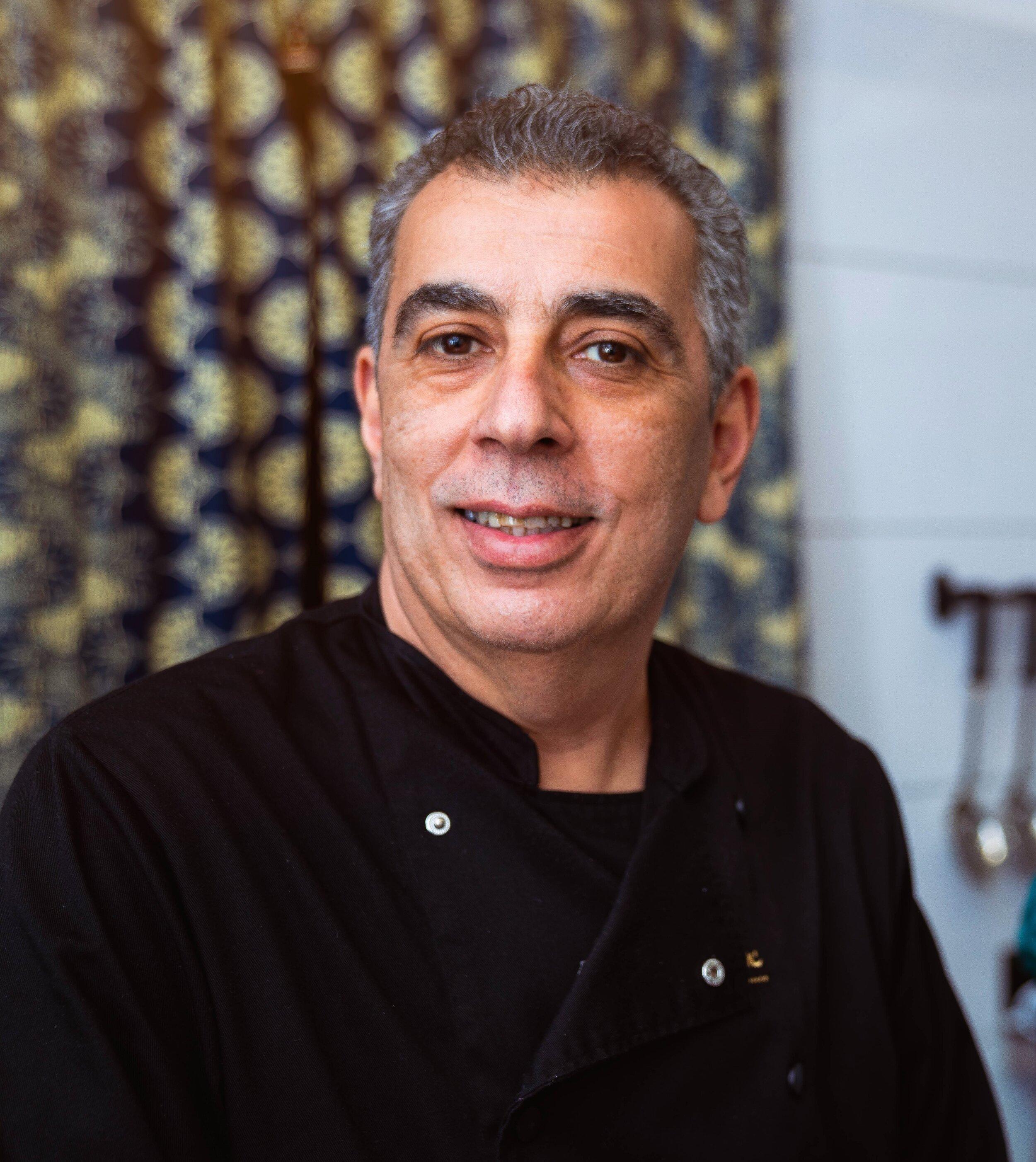 Mohamed chefkok Wereldkeuken Haarlem