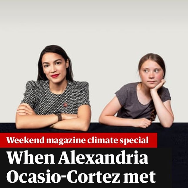 When movements are coming together, that's when change gets real. 💚 @gretathunberg and @ocasio2018 are speaking about the #GreenNewDeal. The Green New Deal isn't just any green policy, but massive investment in climate friendly infrastructure, retrofitting all existing infrastructure, paying climate neutral jobs better and getting to net-zero by 2030. It doesn't matter WHO is doing it, but that it's being done. Let's all get behind this and we have a chance to step up to the very real ClimateCrisis. We re getting Europe behind this. @gndforeurope  www.gndforeurope.com #GreenNewDeal #GreenNewDealForEurope #2030 #fridays4Future #ExtinctionRebellion